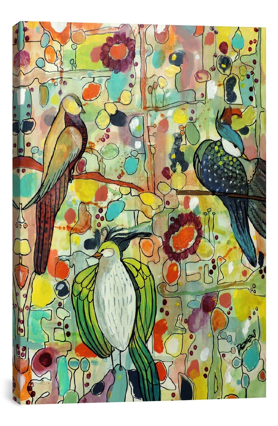 'Assemblée - Sylvie Demers' Giclée Print Canvas Art,                         Main,                         color, Green