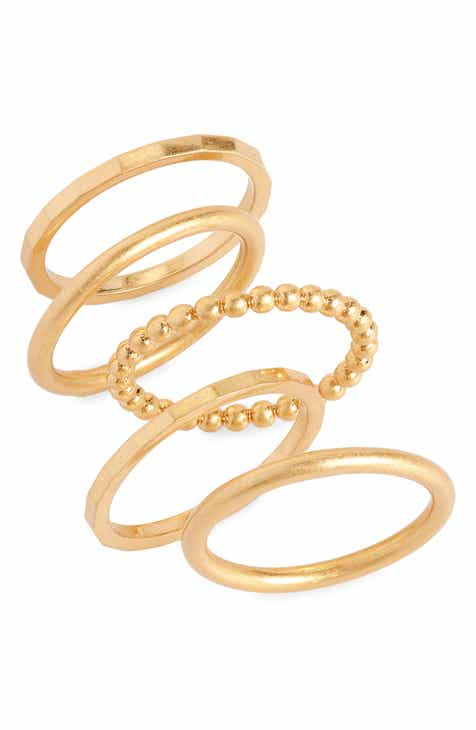 Madewell Simple Stacking Ring Set