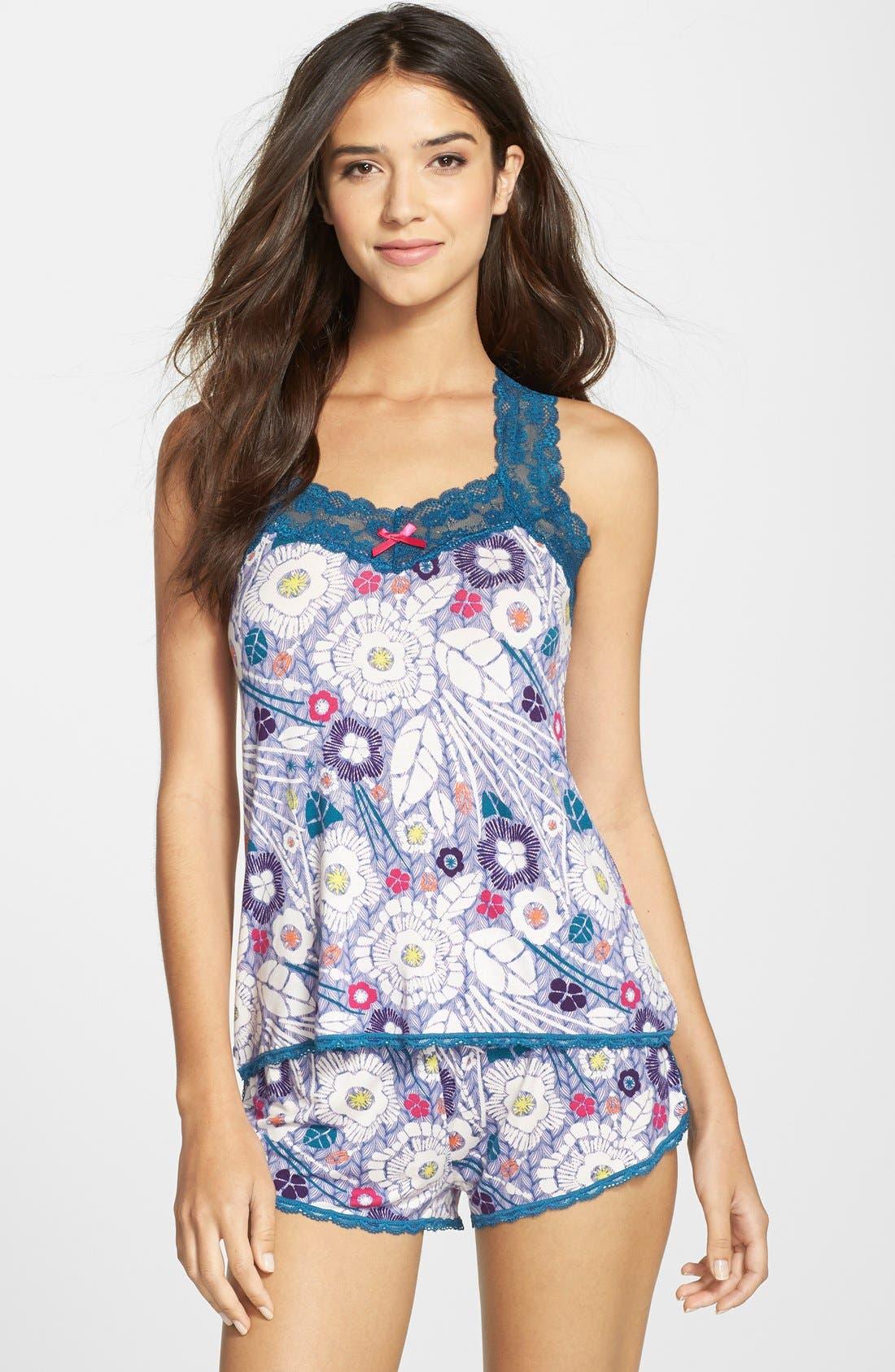 Alternate Image 1 Selected - Honeydew Intimates 'Ahna' Short Pajamas