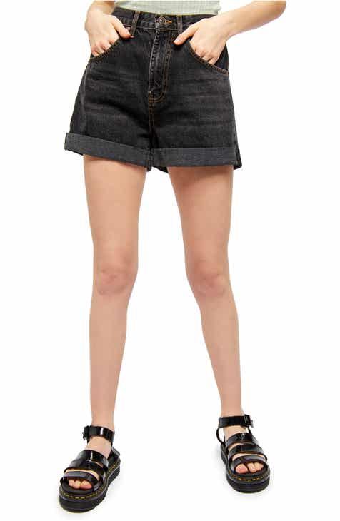 BDG Urban Outfitters Rolled Cuff Mom Shorts