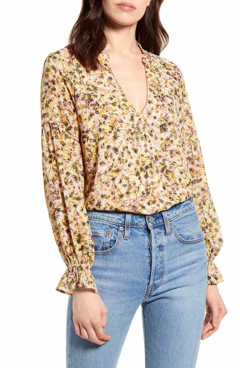 All in Favor Peasant Blouse