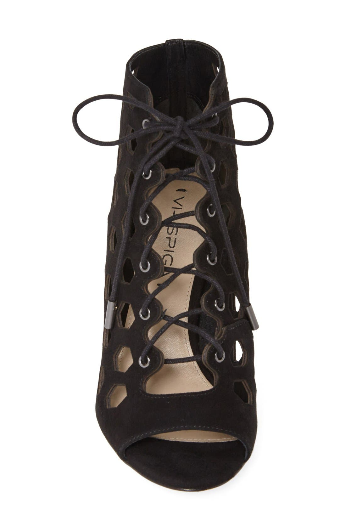 Alternate Image 3  - Via Spiga 'Elouise' Lace-Up Bootie (Women)