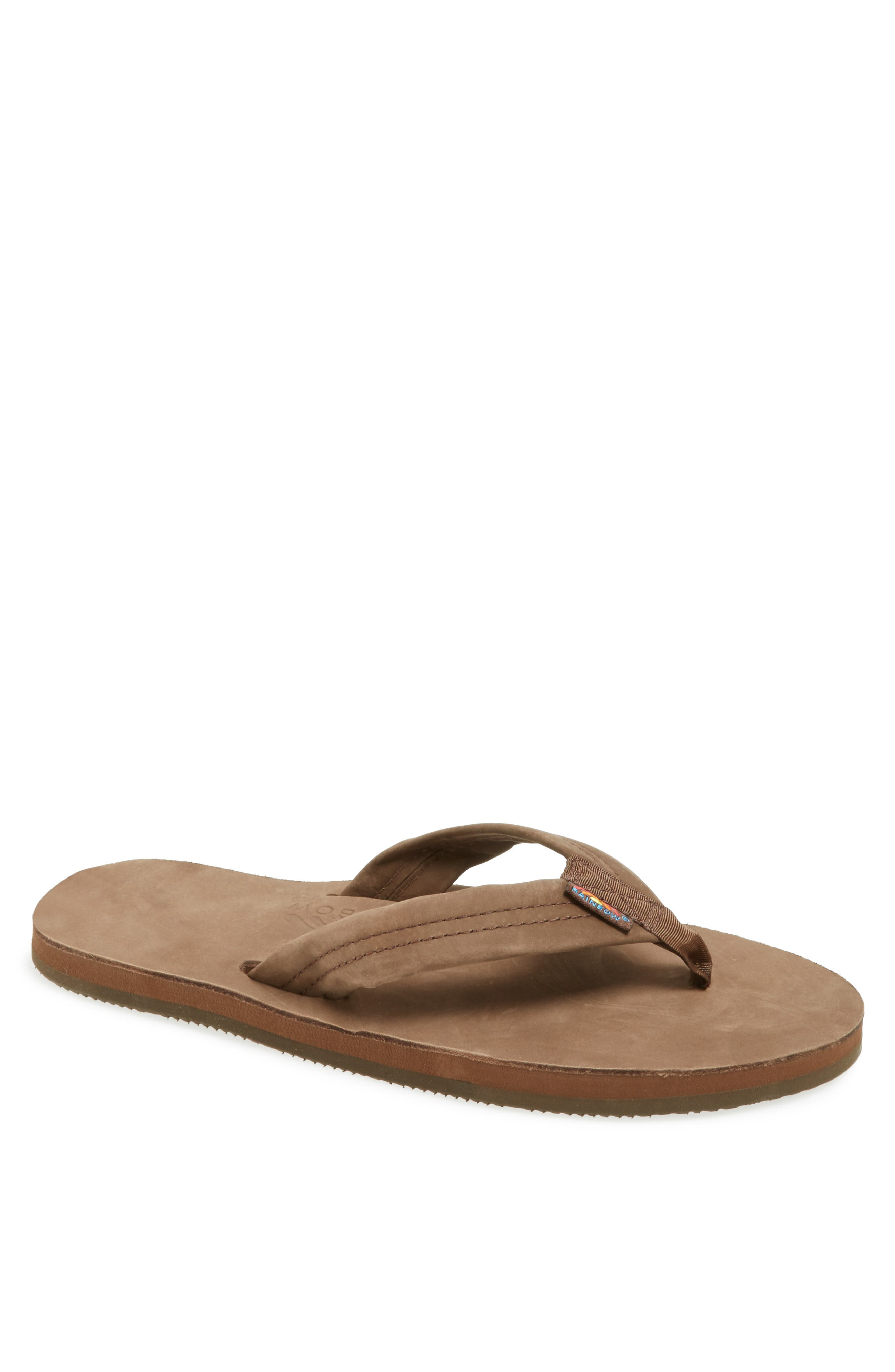 Outdoor Mens Leather Sandals Slippers Summer Casual Beach Shoes Size 10 11 12 13