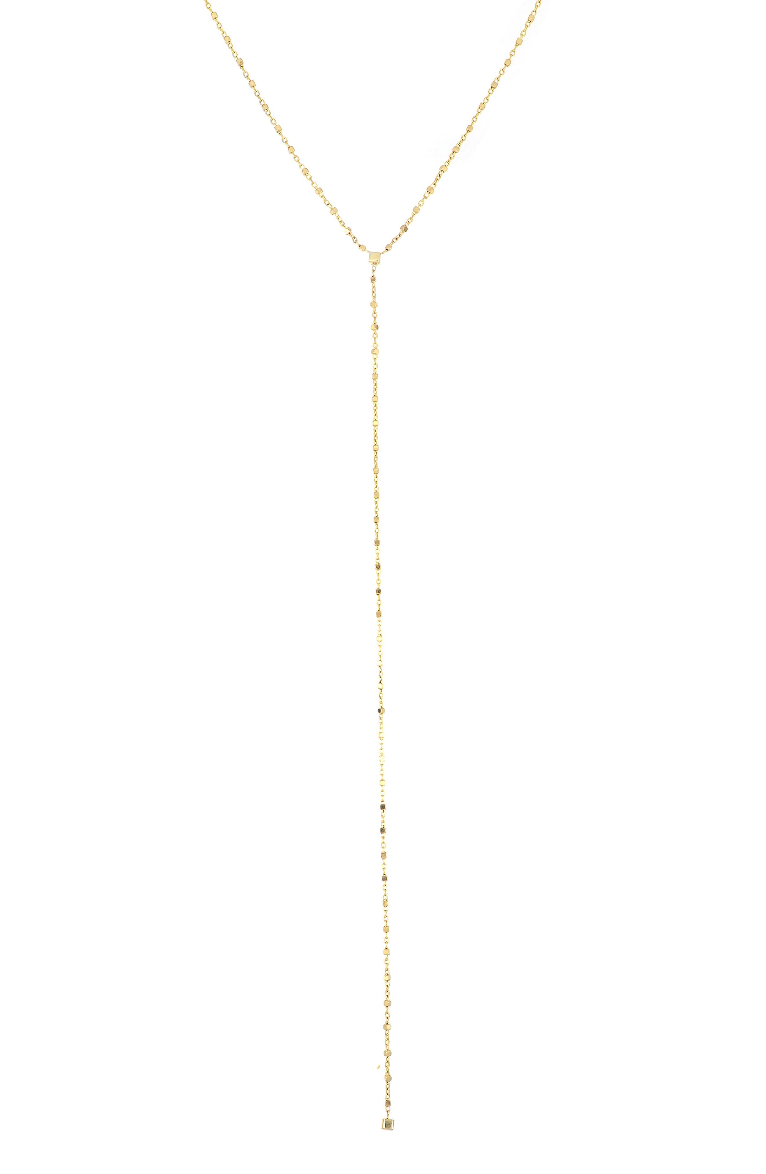 Gold Y Necklace  \u2022  Lariat Necklace  \u2022  Gold Drop necklace  \u2022  Delicate necklace \u2022  Dainty Necklace  \u2022  Simple Necklace   \u2022