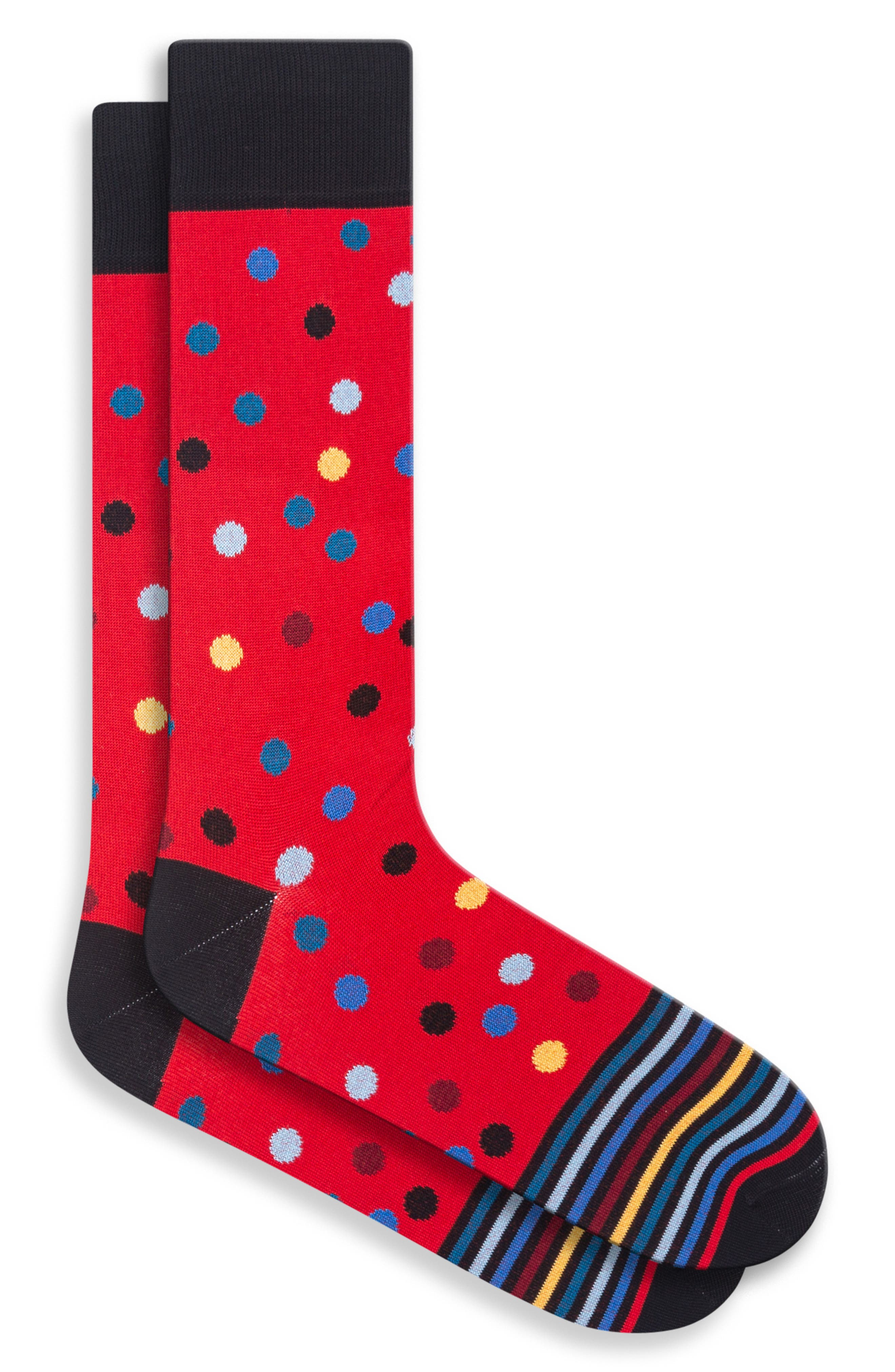 Bugatchi Mens Fashion Sock