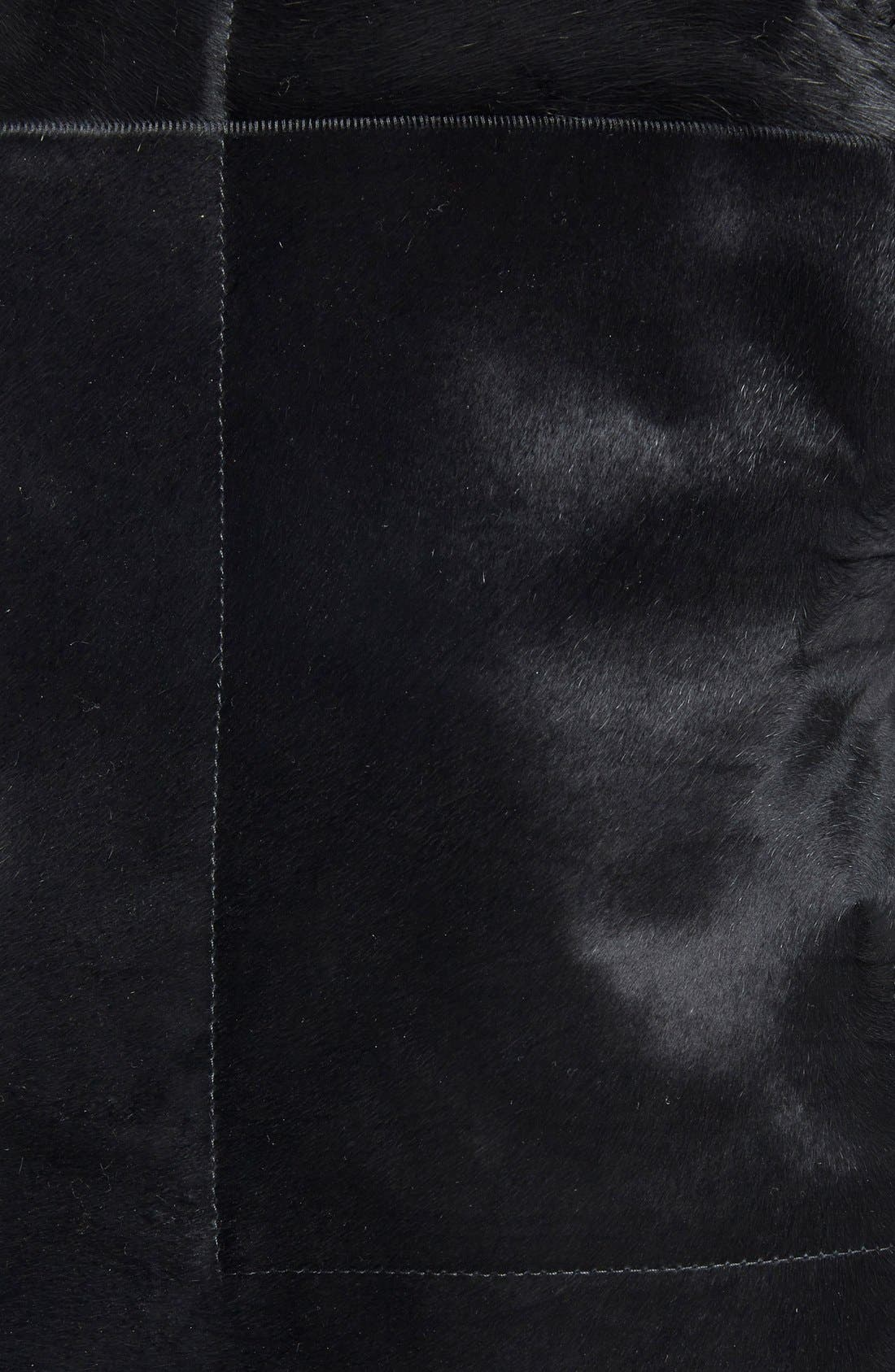 Alternate Image 3  - Rick Owens Classic Genuine Calf Hair Biker Jacket