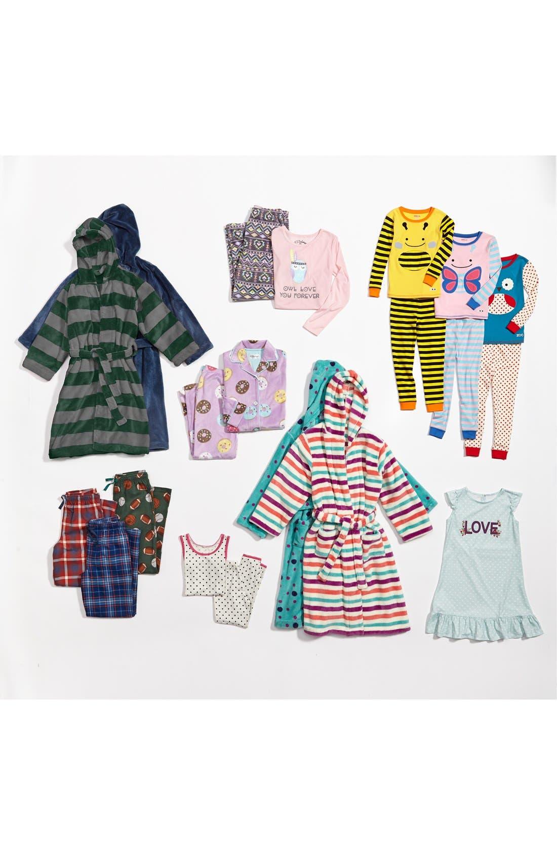 Alternate Image 2  - PJ Salvage 'Donut' Two-Piece Pajamas (Little Girls & Big Girls)