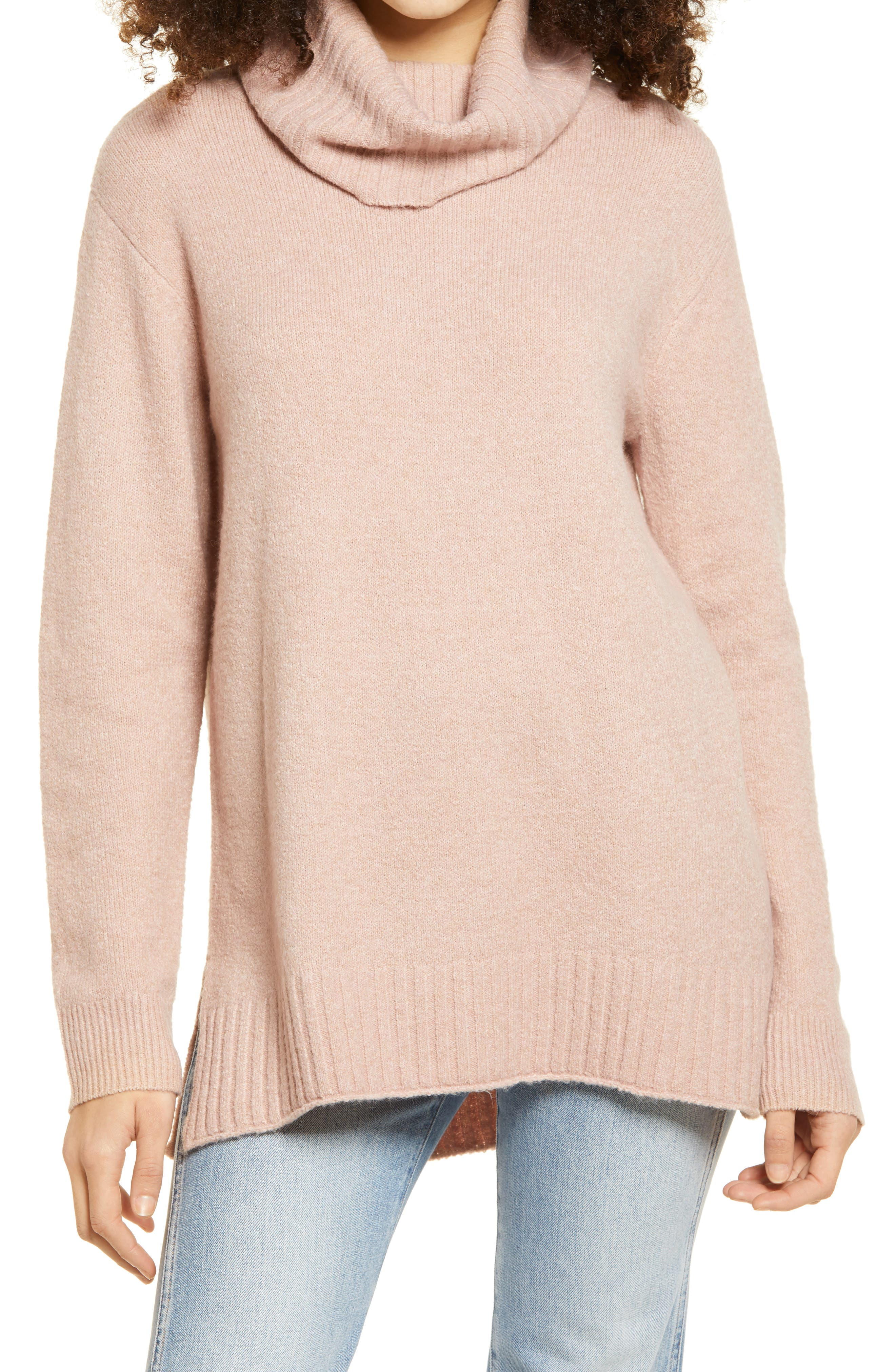 J LINDEBERG Womens Daisy Turtleneck Sweater