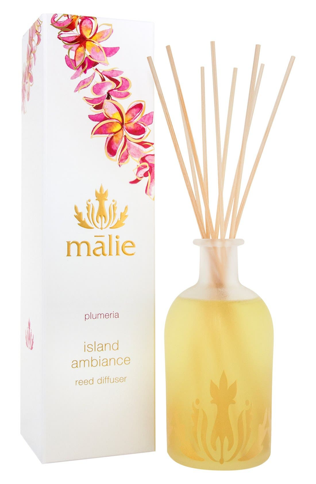 Main Image - Malie Organics Island Ambience™ Plumeria Reed Diffuser