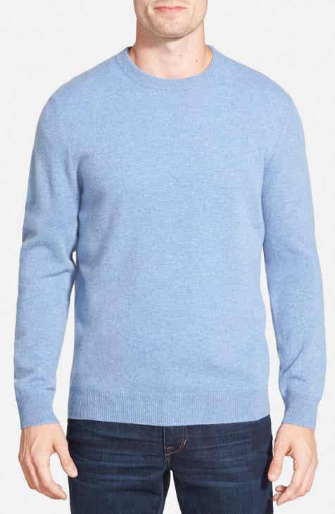 876e80488da7 Nordstrom Men's Shop Cashmere Crewneck Sweater (Regular & Tall)