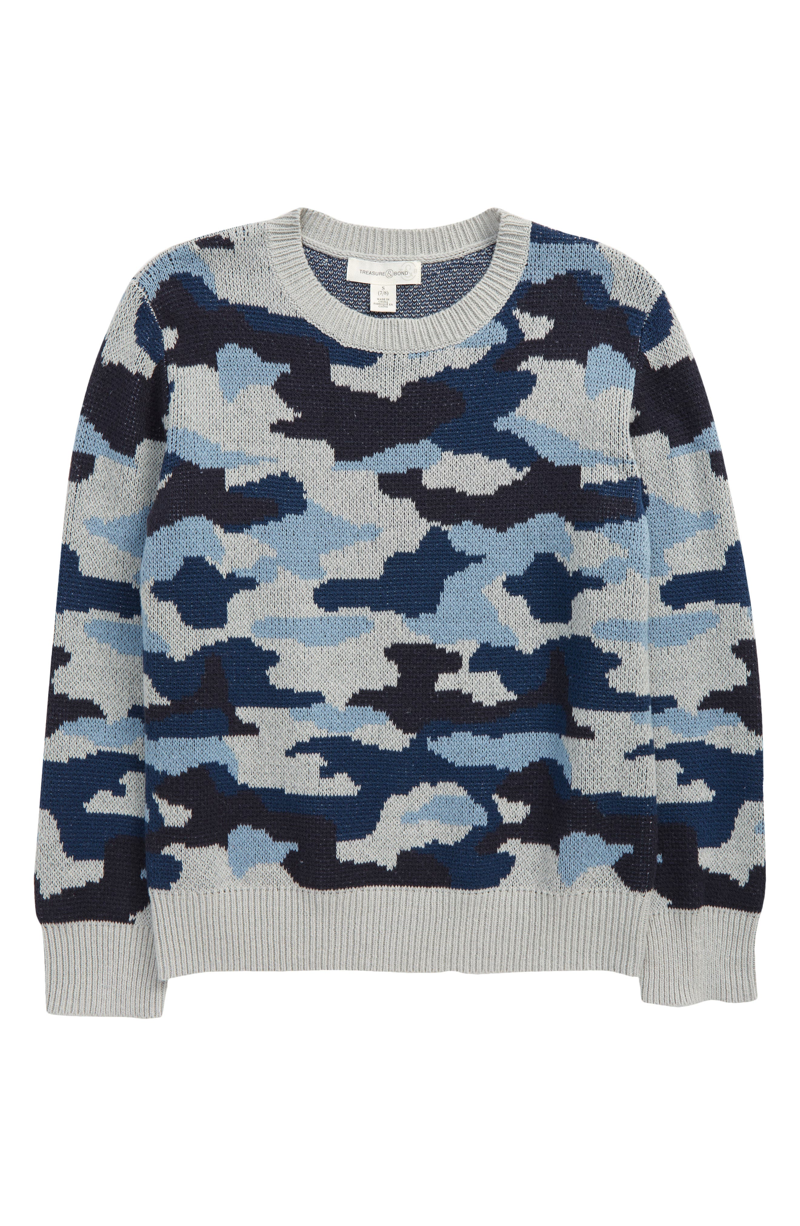 LeeXiang Toddler Boys Pullover Sweaters Kids Winter Knit Cotton Sweatshirts