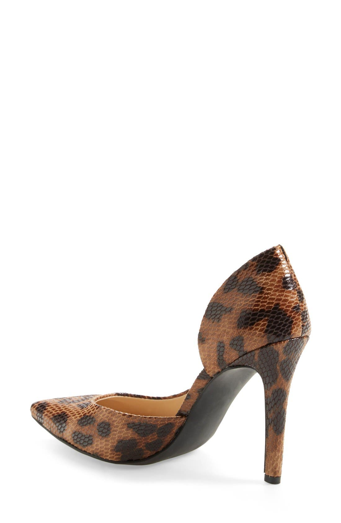 Alternate Image 2  - Jessica Simpson 'Claudette' Half d'Orsay Pump