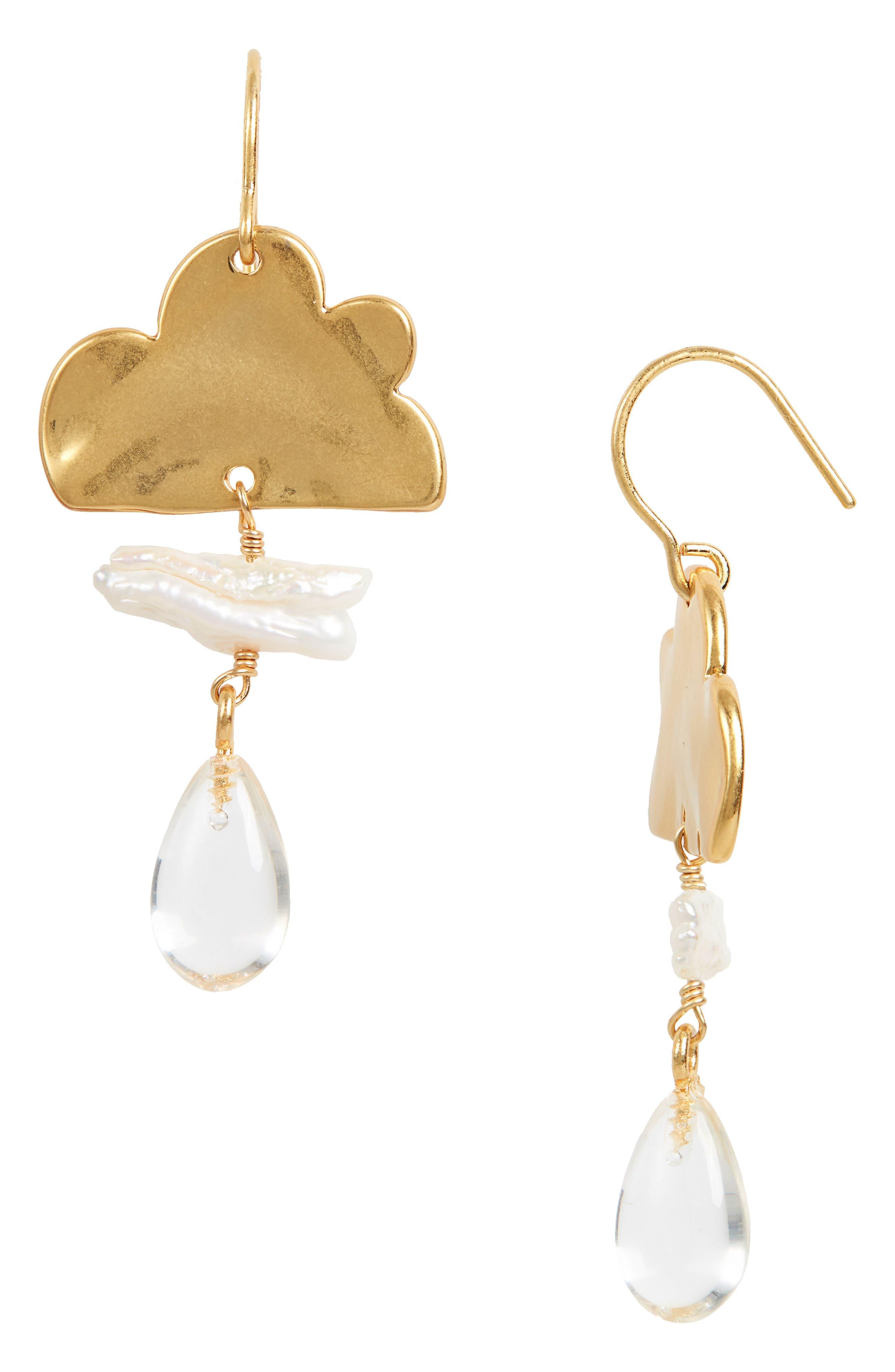 SALE Glitter Resin Necklace /& Earring Set In Antiqued Brass