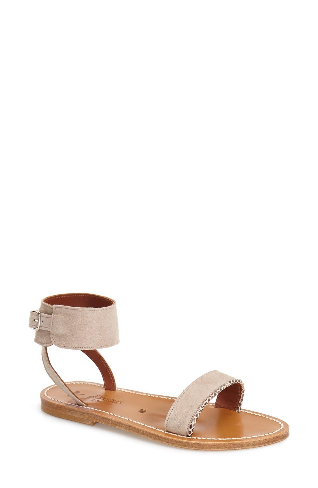 Alternate Image 1 Selected - K.Jacques St. Tropez 'Saratoga' Ankle Strap Sandal