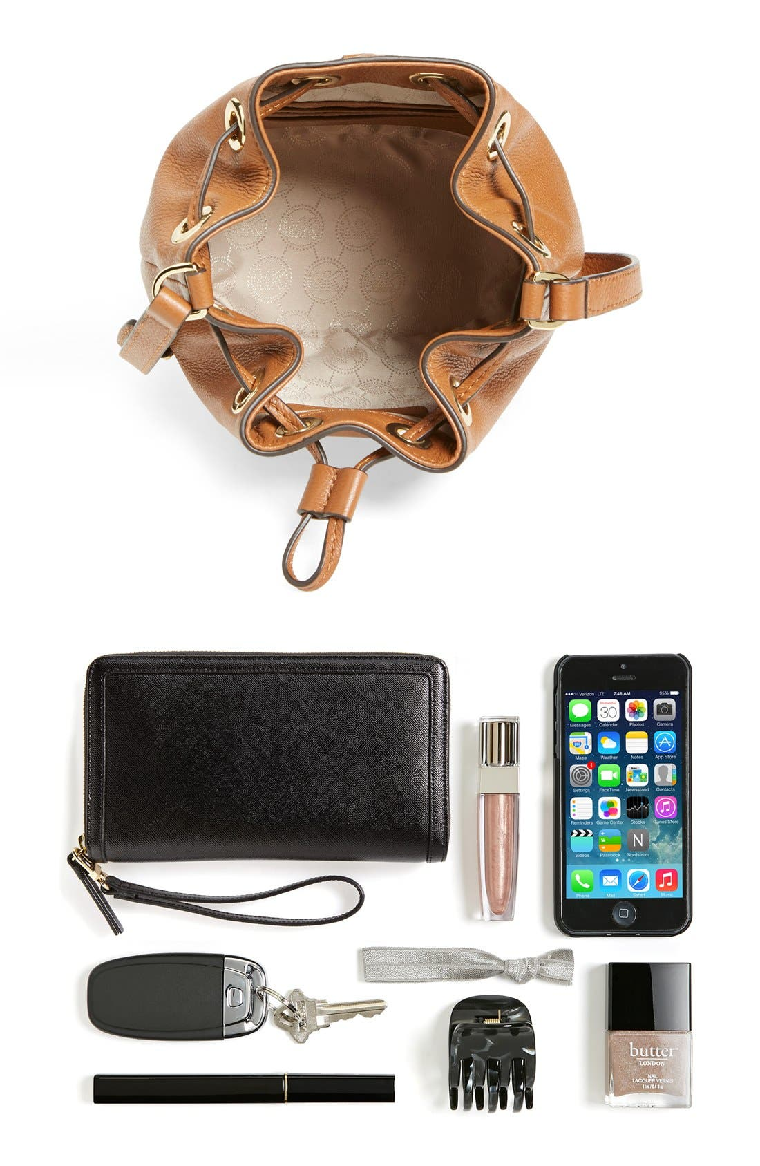 Alternate Image 3  - MICHAEL Michael Kors 'Jules' Drawstring Crossbody Bag