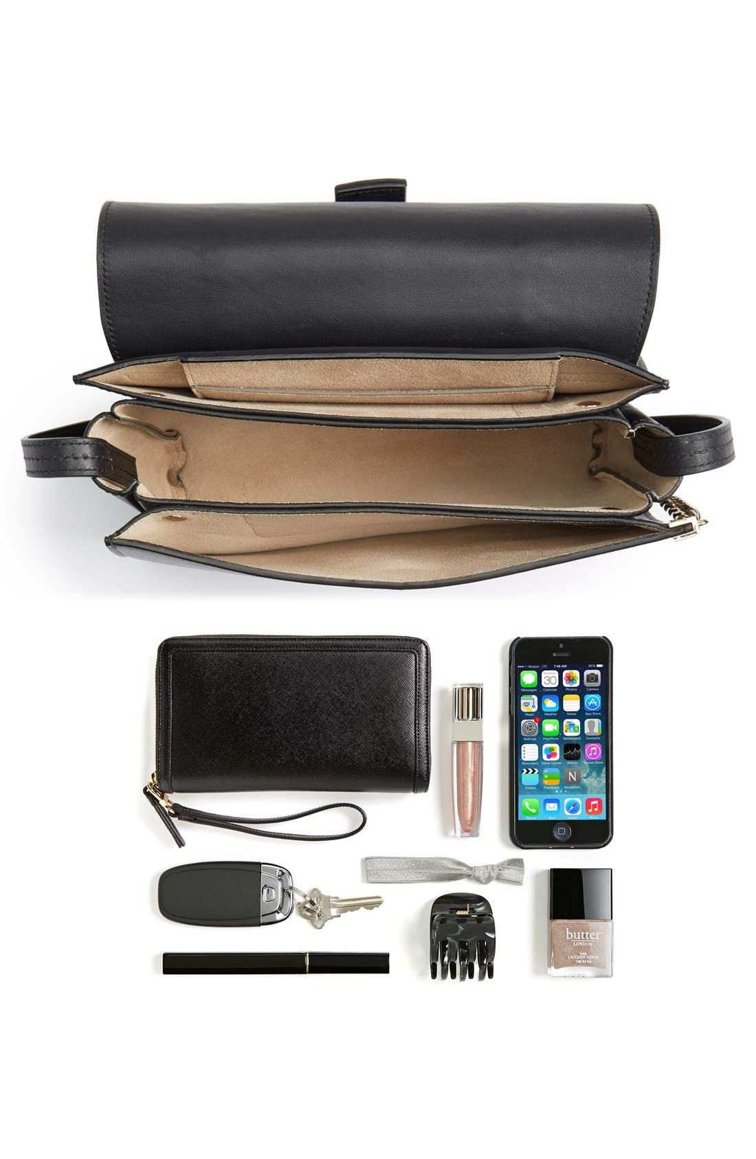 Alternate Image 7  - Chloé 'Small Faye' Genuine Python & Leather Shoulder Bag