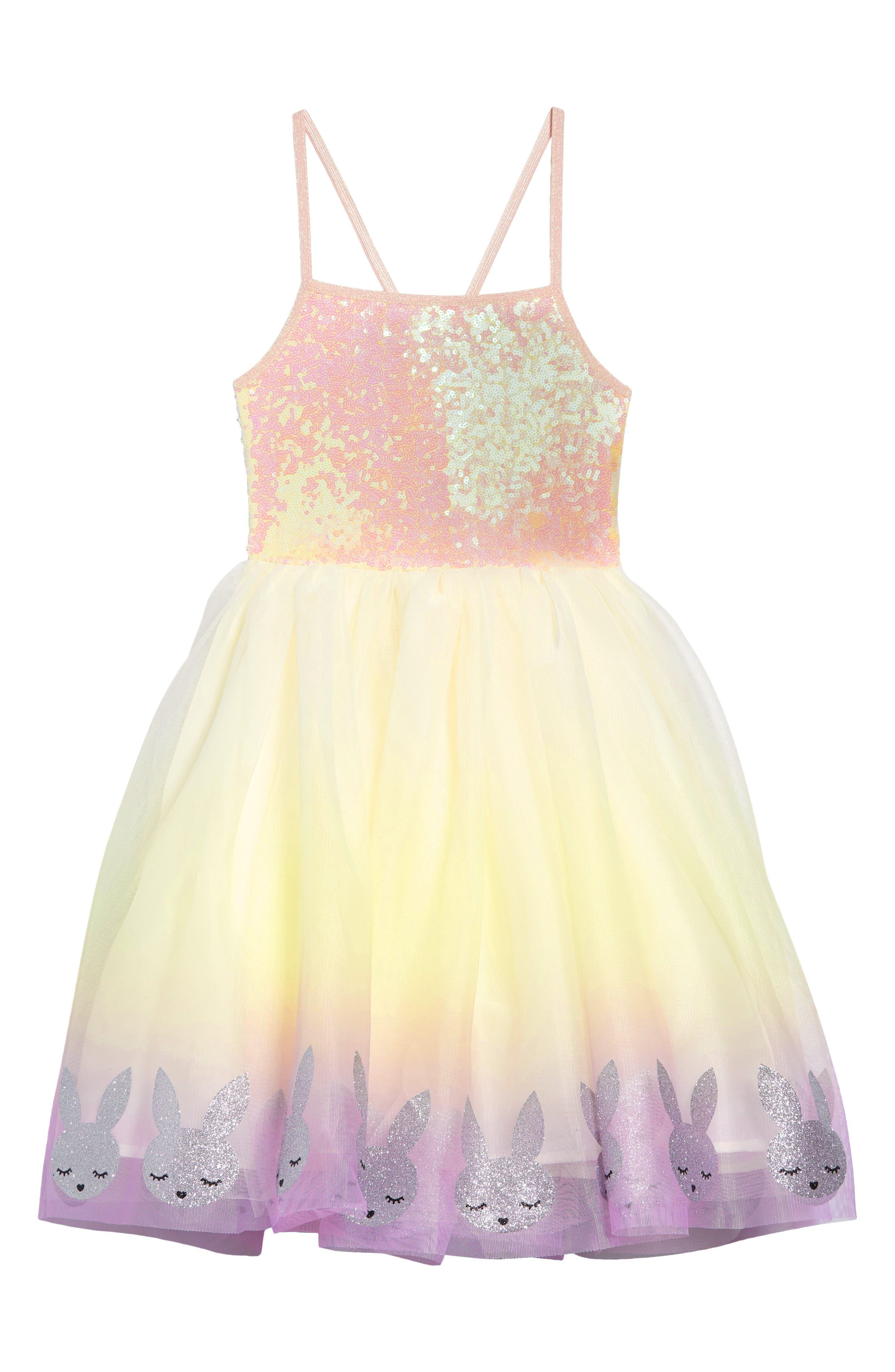 Baby Girls Gauze Cap Sleeve Dedication Dress Floral Empire Waist Baptism Outfit