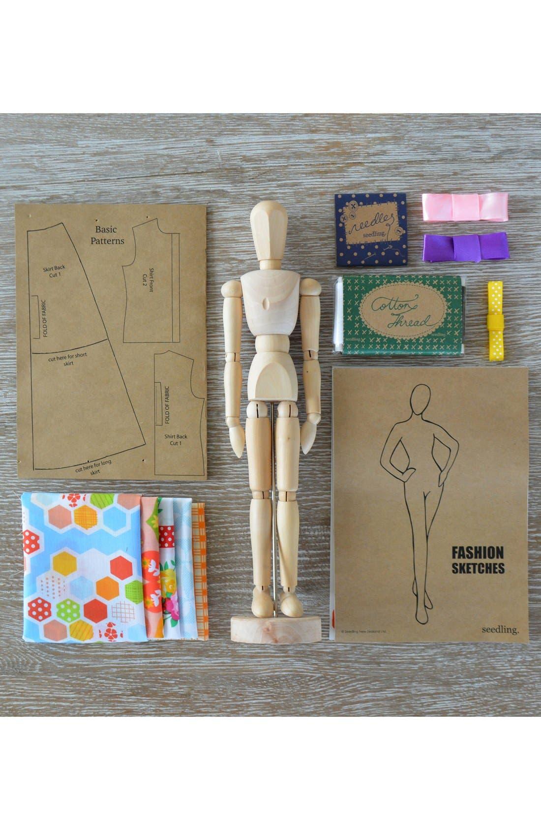 'Fashion Designers' Kit,                             Alternate thumbnail 2, color,                             None