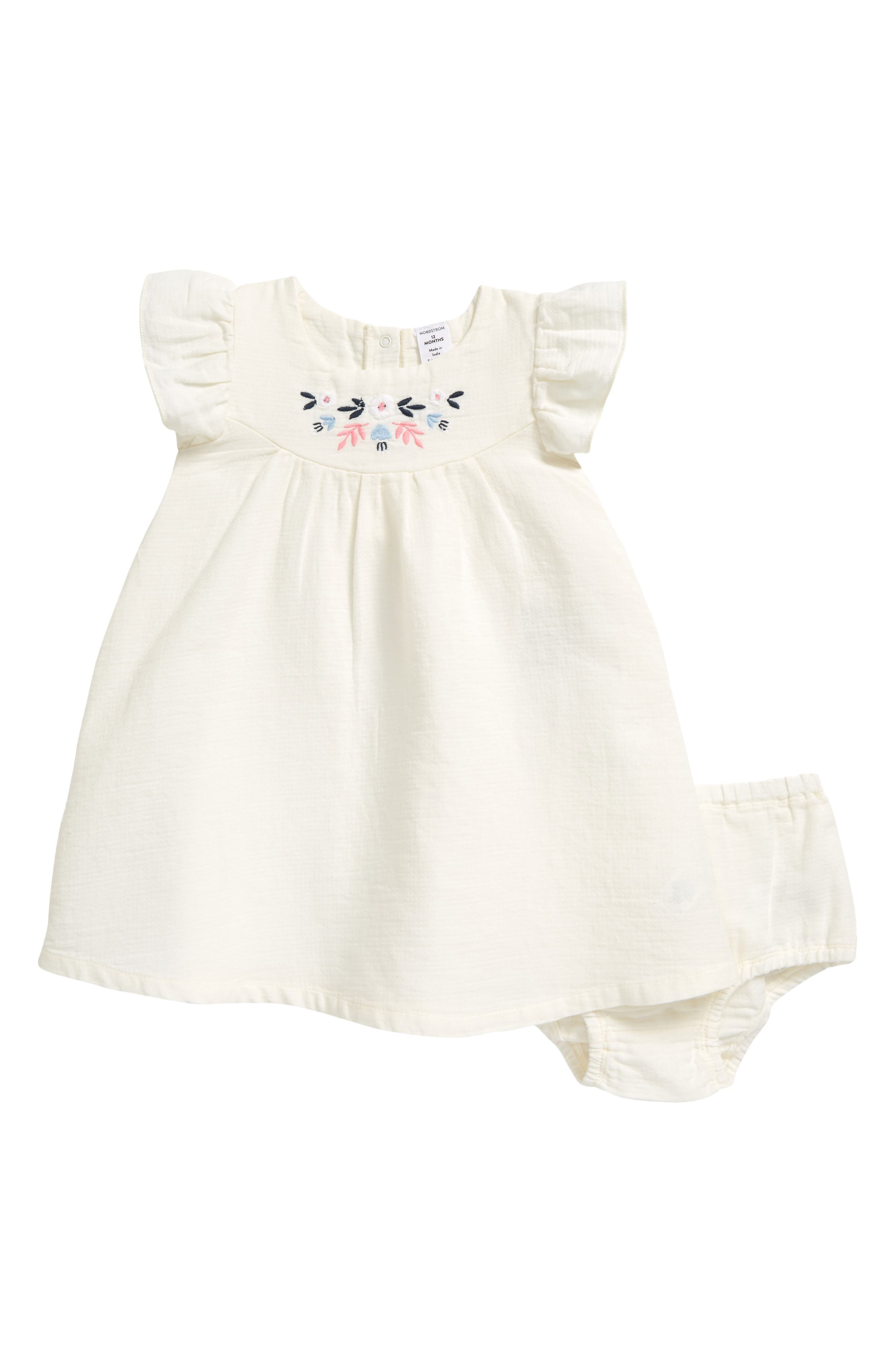 floral baby girl dress peach floral dress toddler spring dresses toddler Easter dress Easter outfits stretchy knit dress