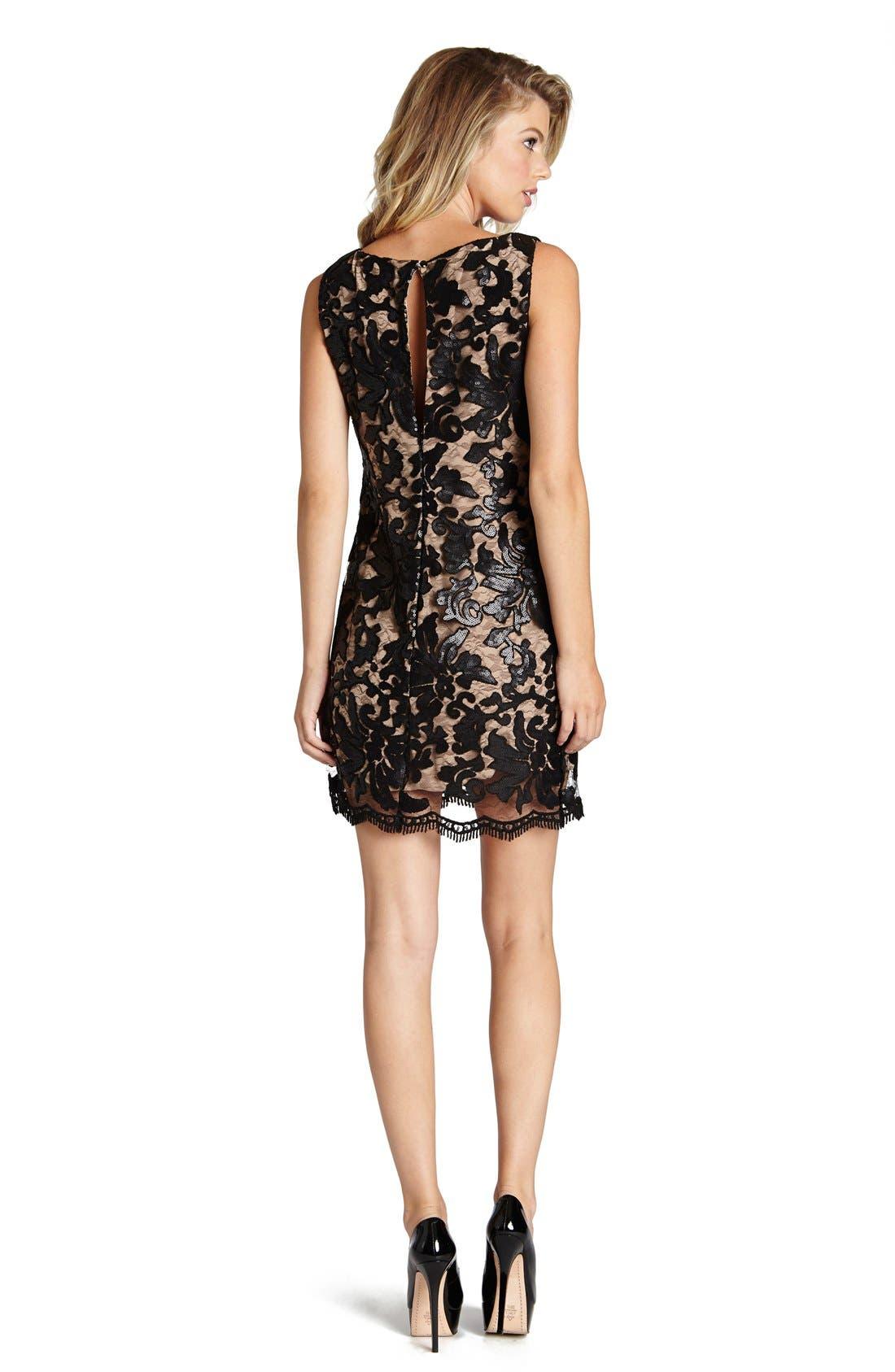 Alternate Image 2  - Dress the Population Audrey Sequin Lace Dress