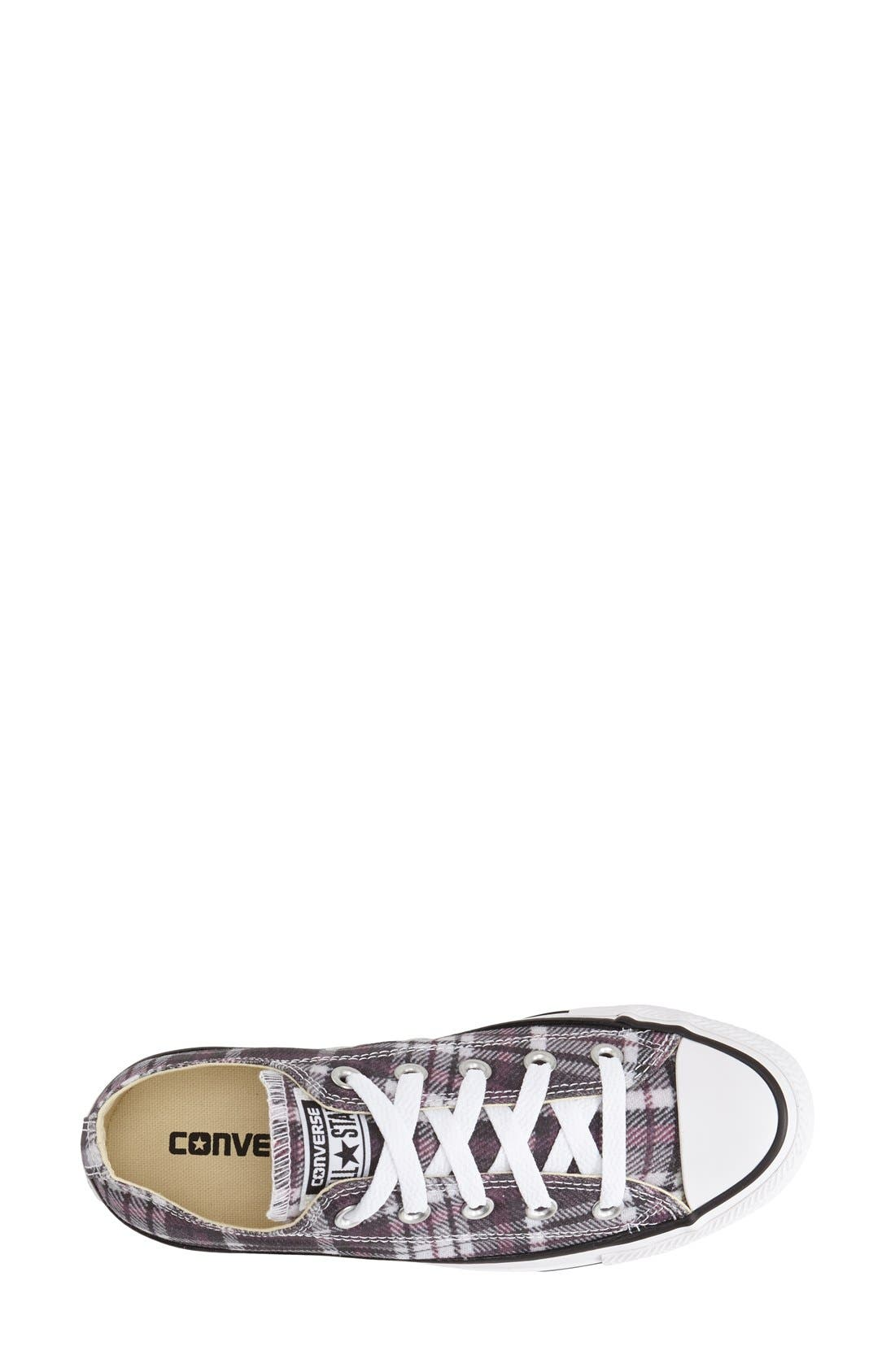 Alternate Image 3  - Converse Chuck Taylor® All Star® Plaid Low Top Sneaker (Women)