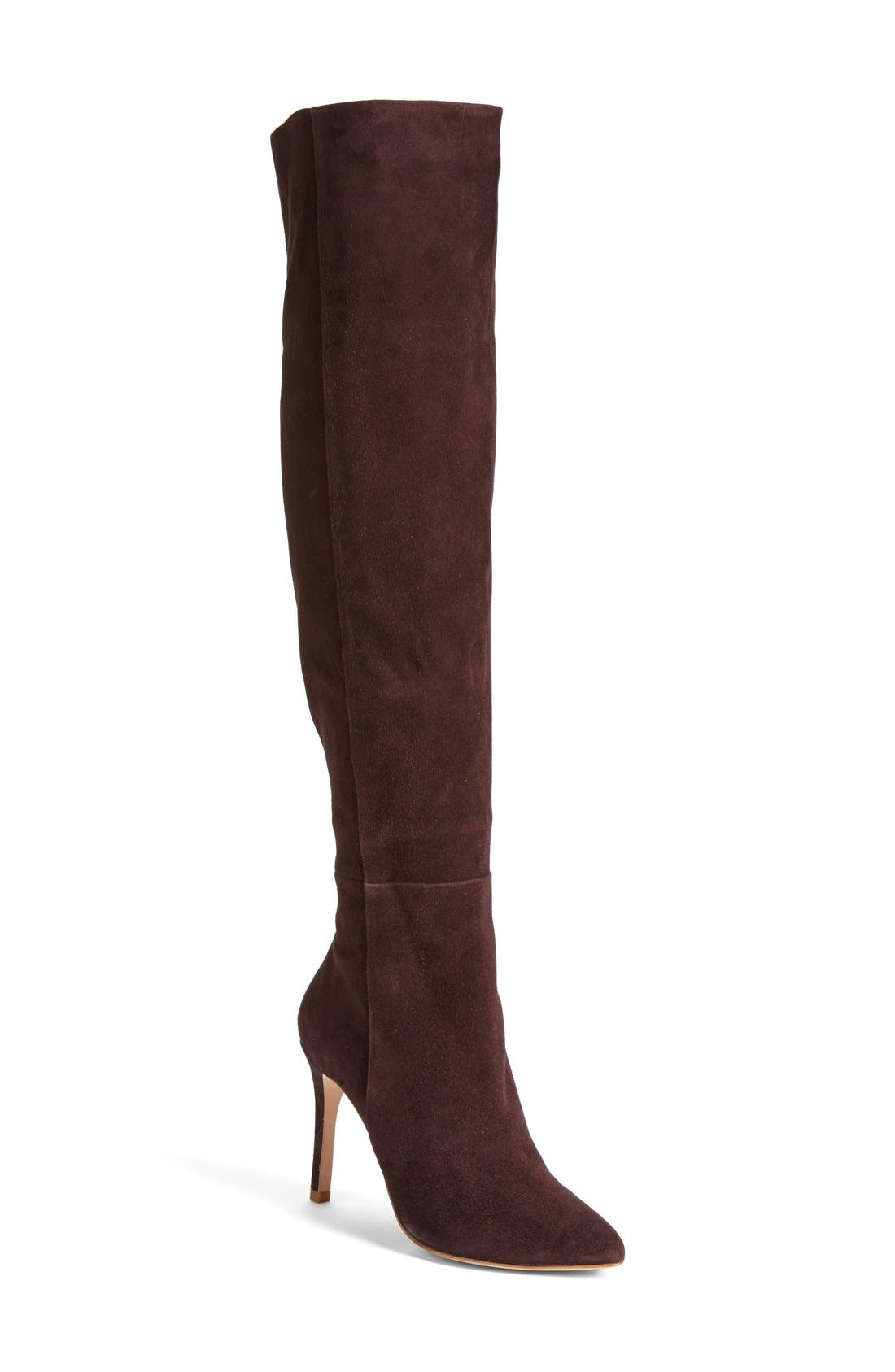 Main Image - Joie 'Olivia' Suede Over the Knee Boot (Women)