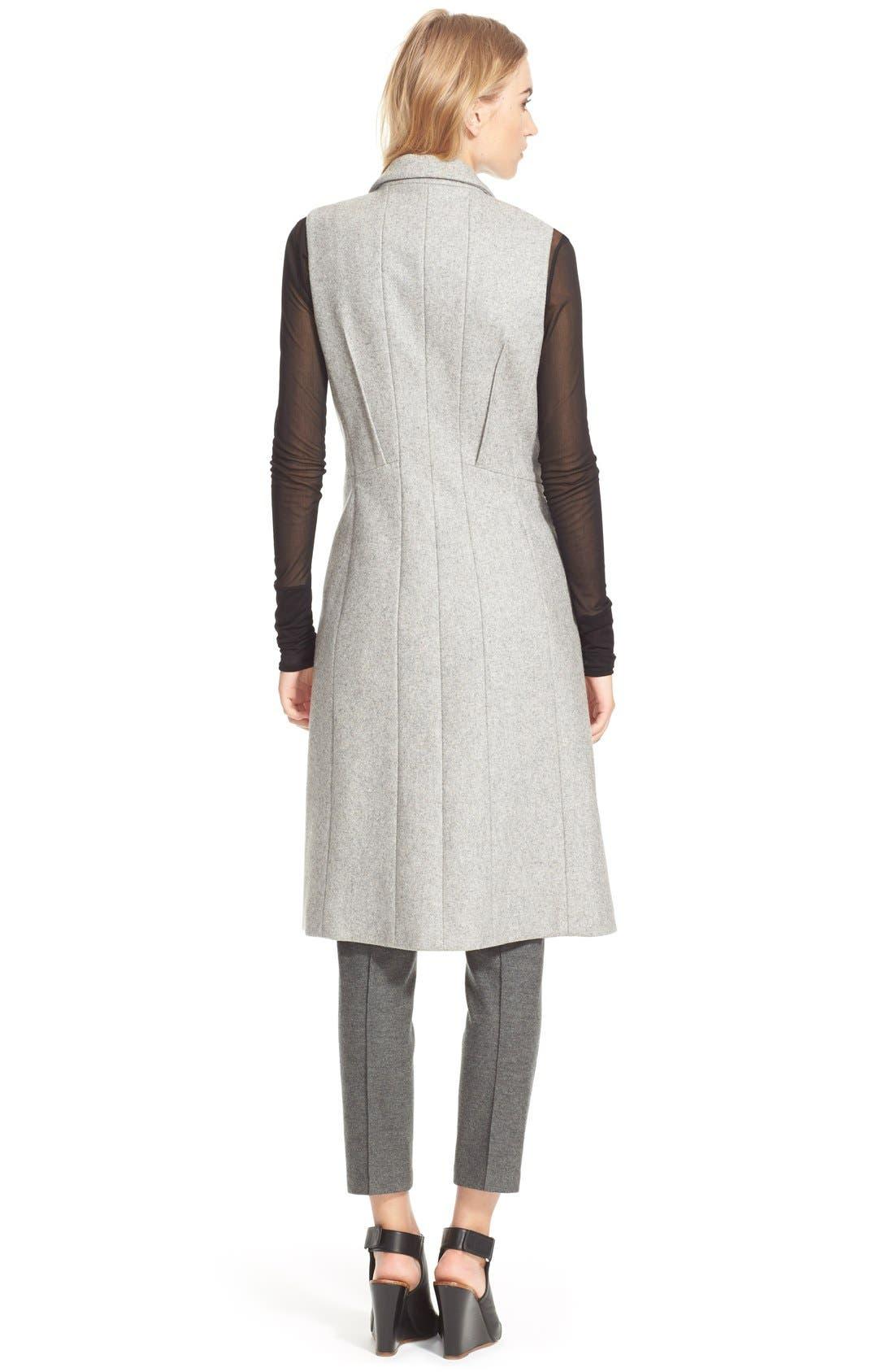 Alternate Image 4  - rag & bone 'Faye' Long Double Breasted Wool Blend Vest