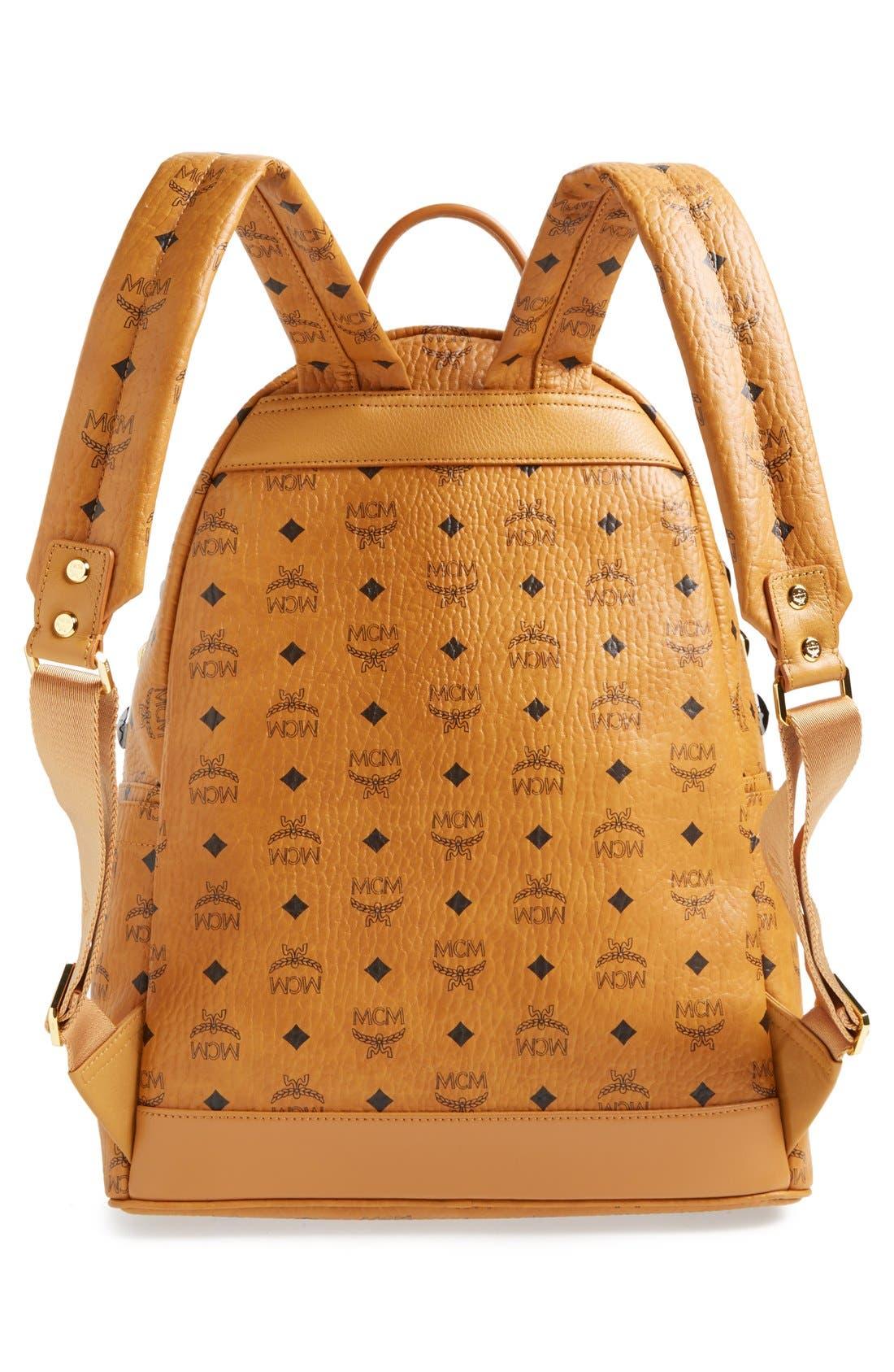 Alternate Image 3  - MCM 'Medium Stark M' Stud Backpack