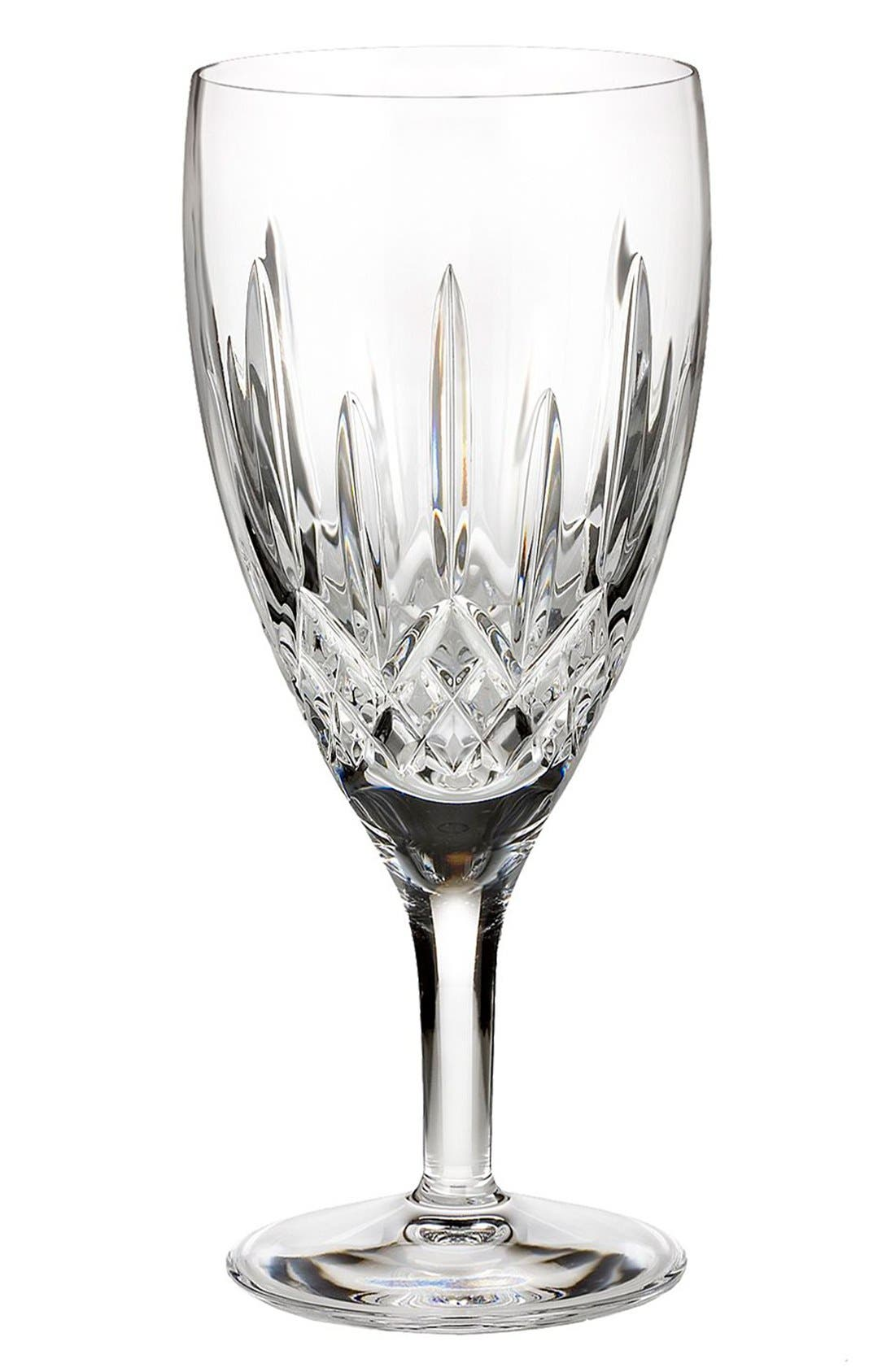 'Lismore Nouveau' Lead Crystal Iced Beverage Glass,                         Main,                         color, Clear