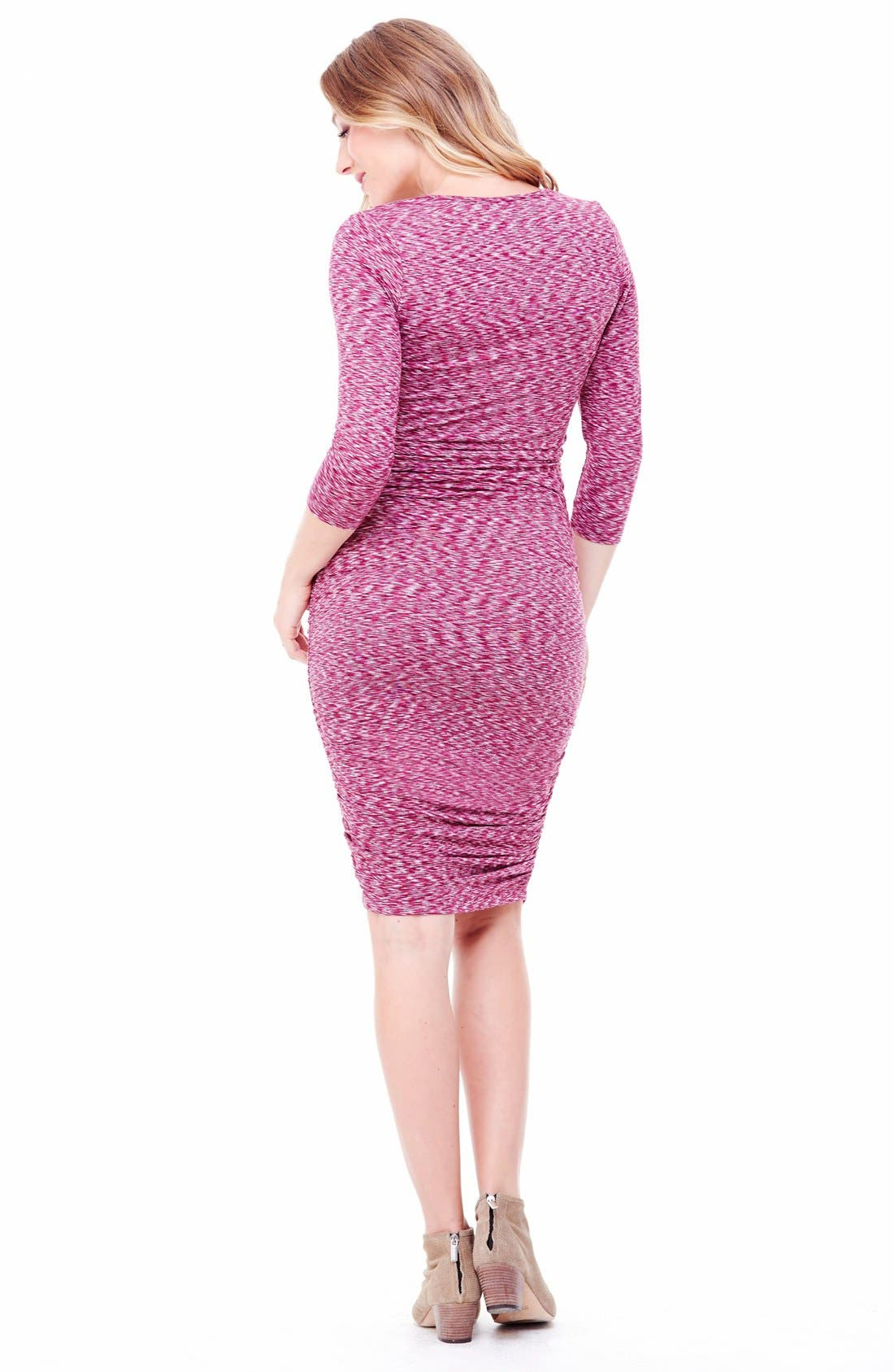 Alternate Image 2  - Ingrid & Isabel Jersey Maternity Dress