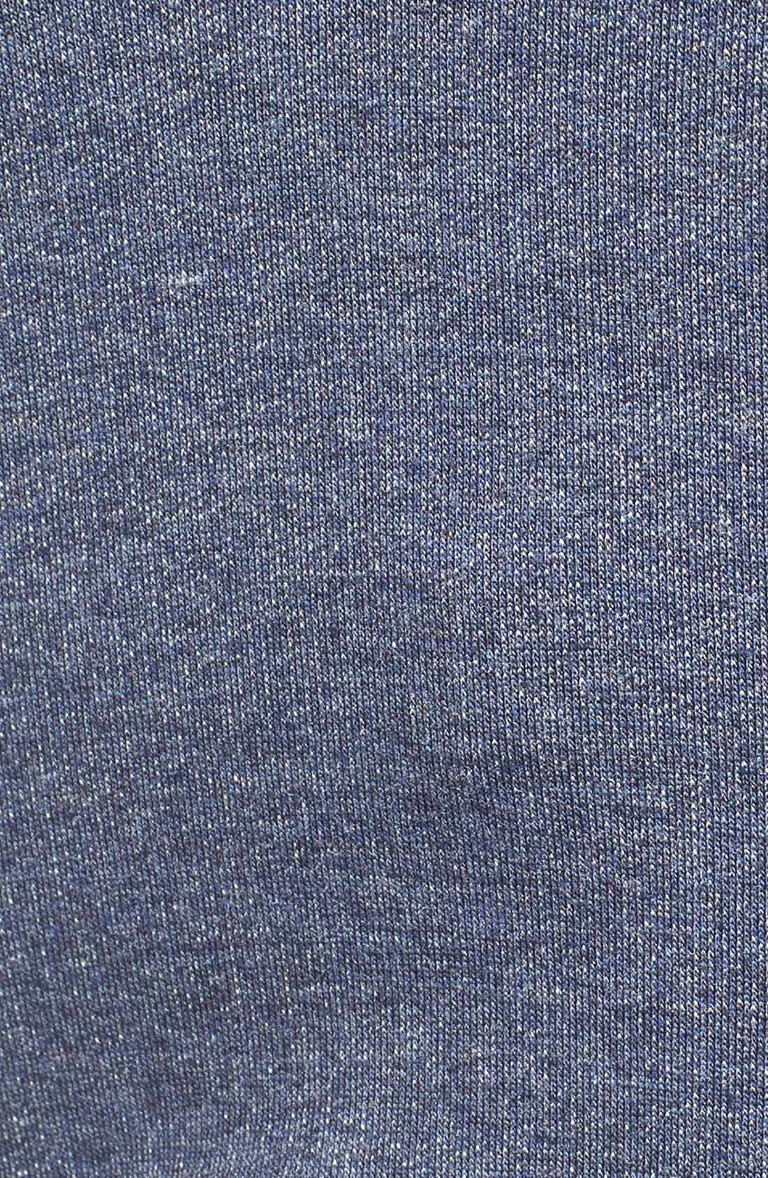 Presley Body-Con Maternity Dress,                             Alternate thumbnail 3, color,                             Blue Denim