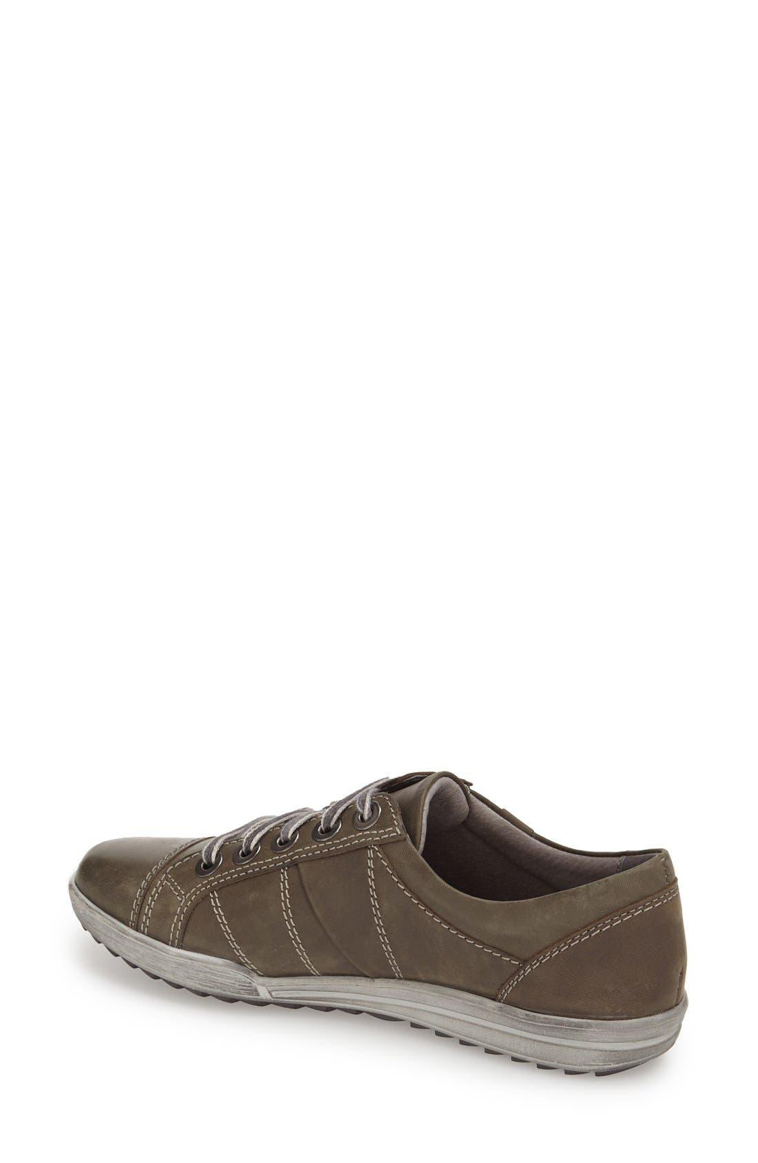 Alternate Image 2  - Josef Seibel 'Dany 05' Leather Sneaker (Women)
