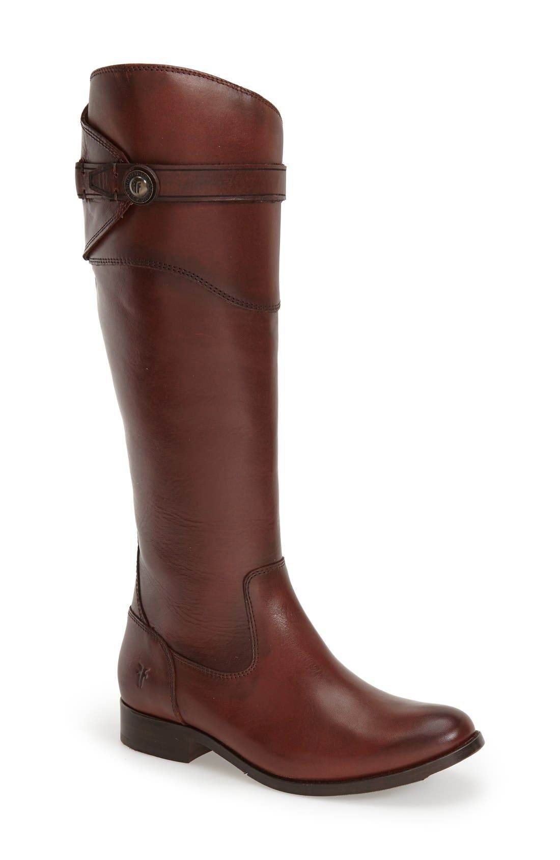 Alternate Image 1 Selected - Frye 'Molly Button' Riding Boot (Women)