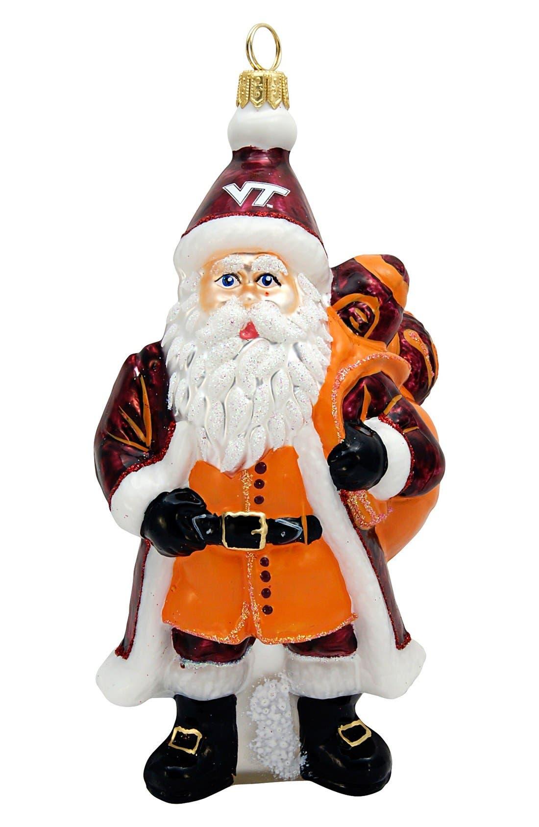 Joy to the World Collectibles 'Collegiate Santa' Ornament