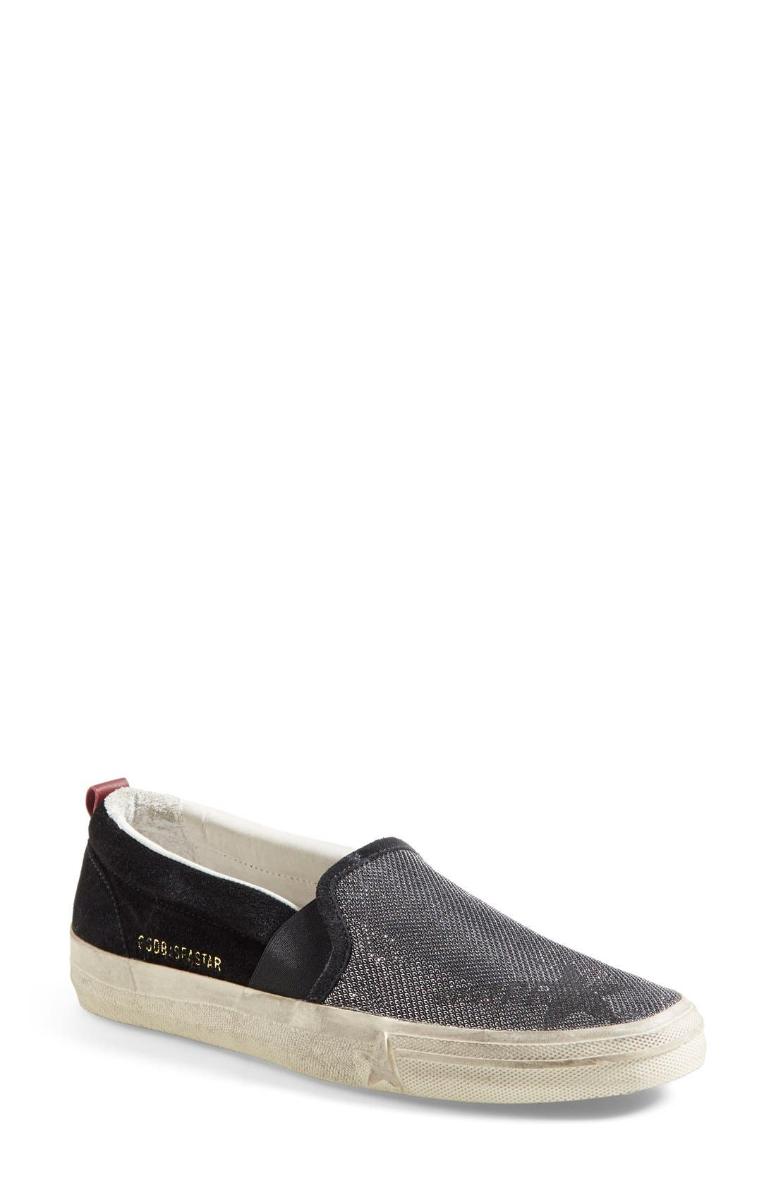 Alternate Image 1 Selected - Golden Goose 'Sea Star' Slip-On Sneaker (Women)