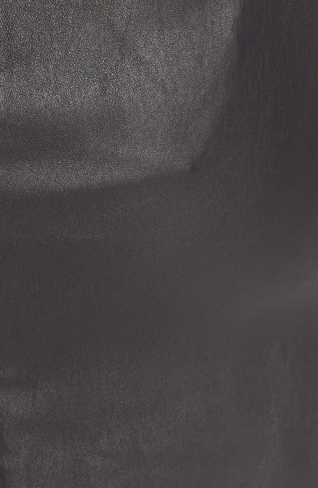 Alternate Image 3  - Diane vonFurstenberg'Cloe' Leather Pencil Skirt