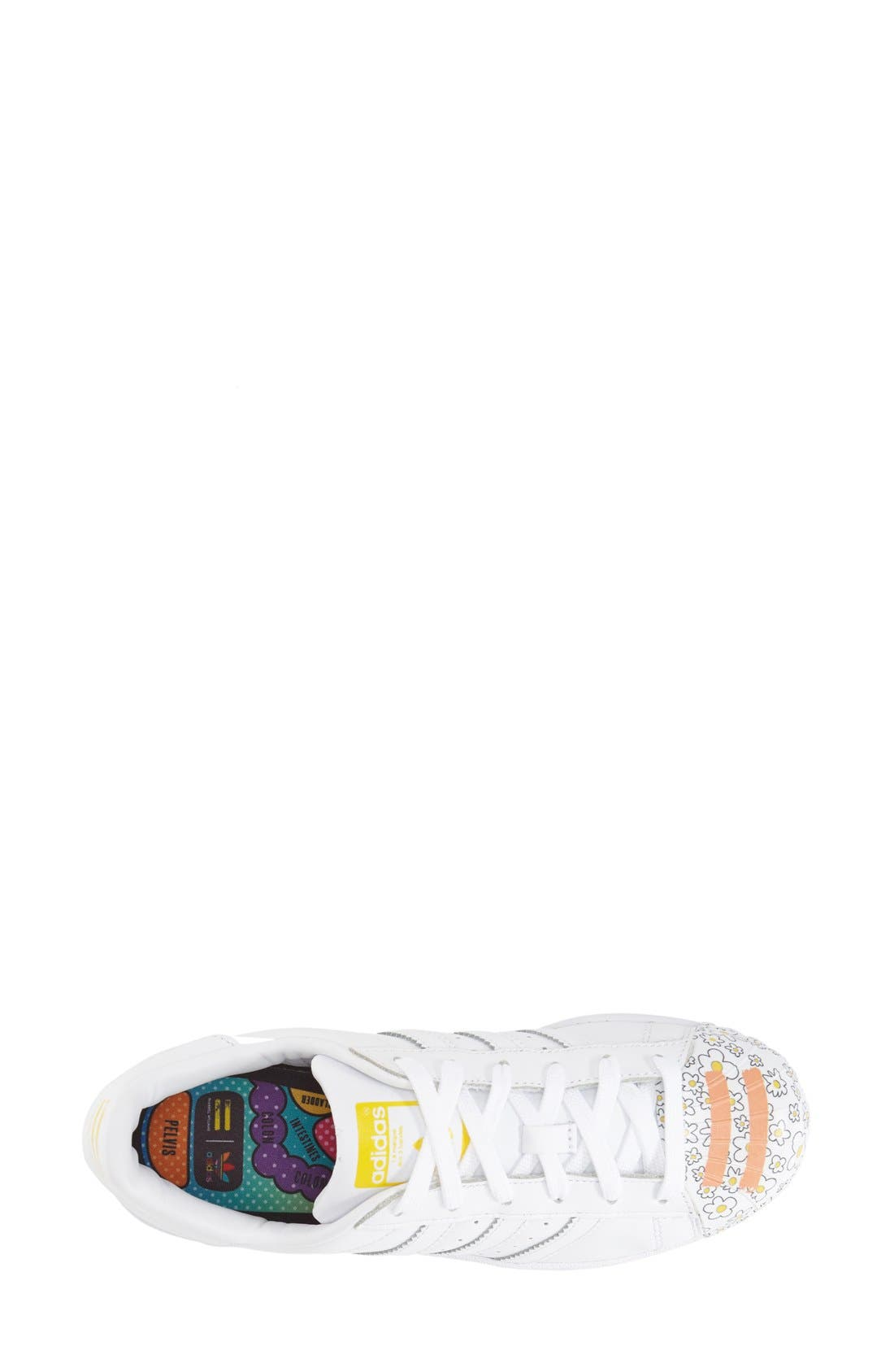 Alternate Image 6  - adidas 'Superstar Pharrell Supershell' Sneaker