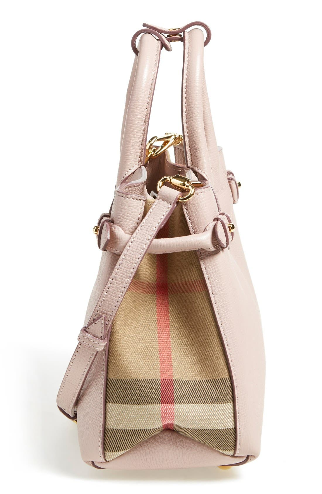 Alternate Image 5  - Burberry 'Small Banner' Leather Tote