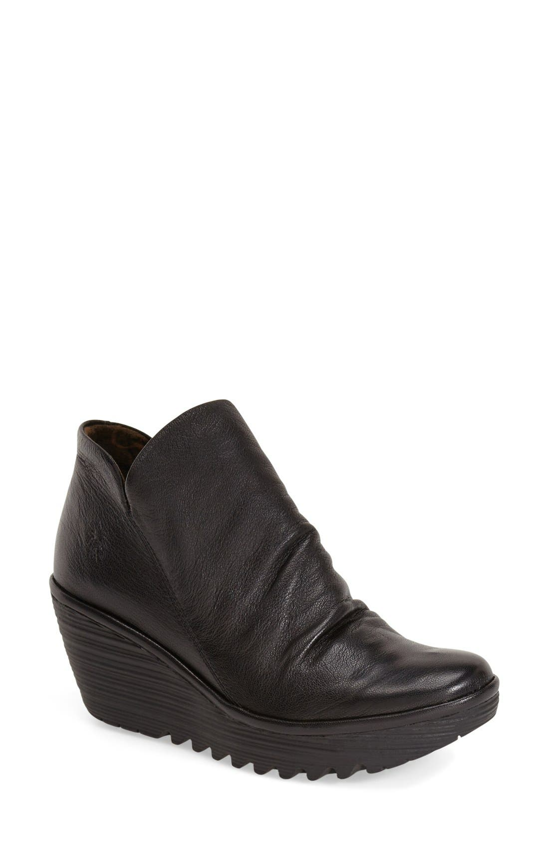 Alternate Image 1 Selected - Fly London 'Yip' Wedge Bootie (Women)