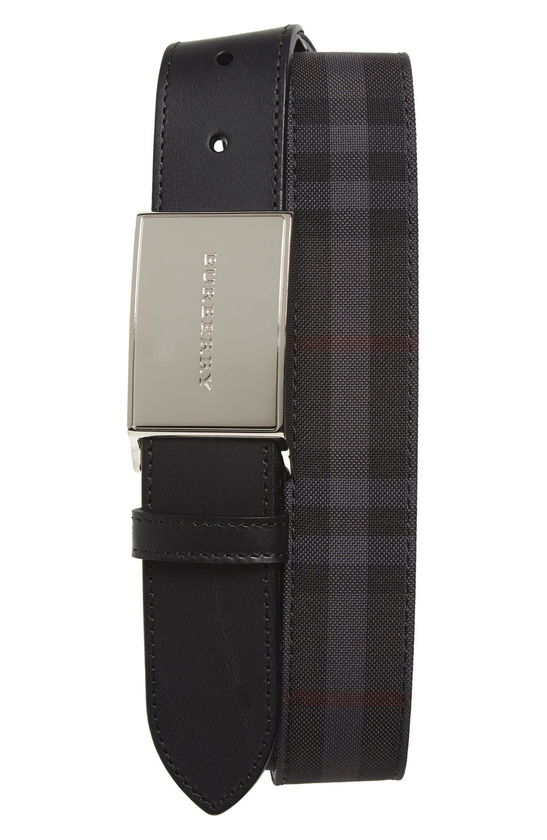 'Charles' Belt,                             Main thumbnail 1, color,                             Black