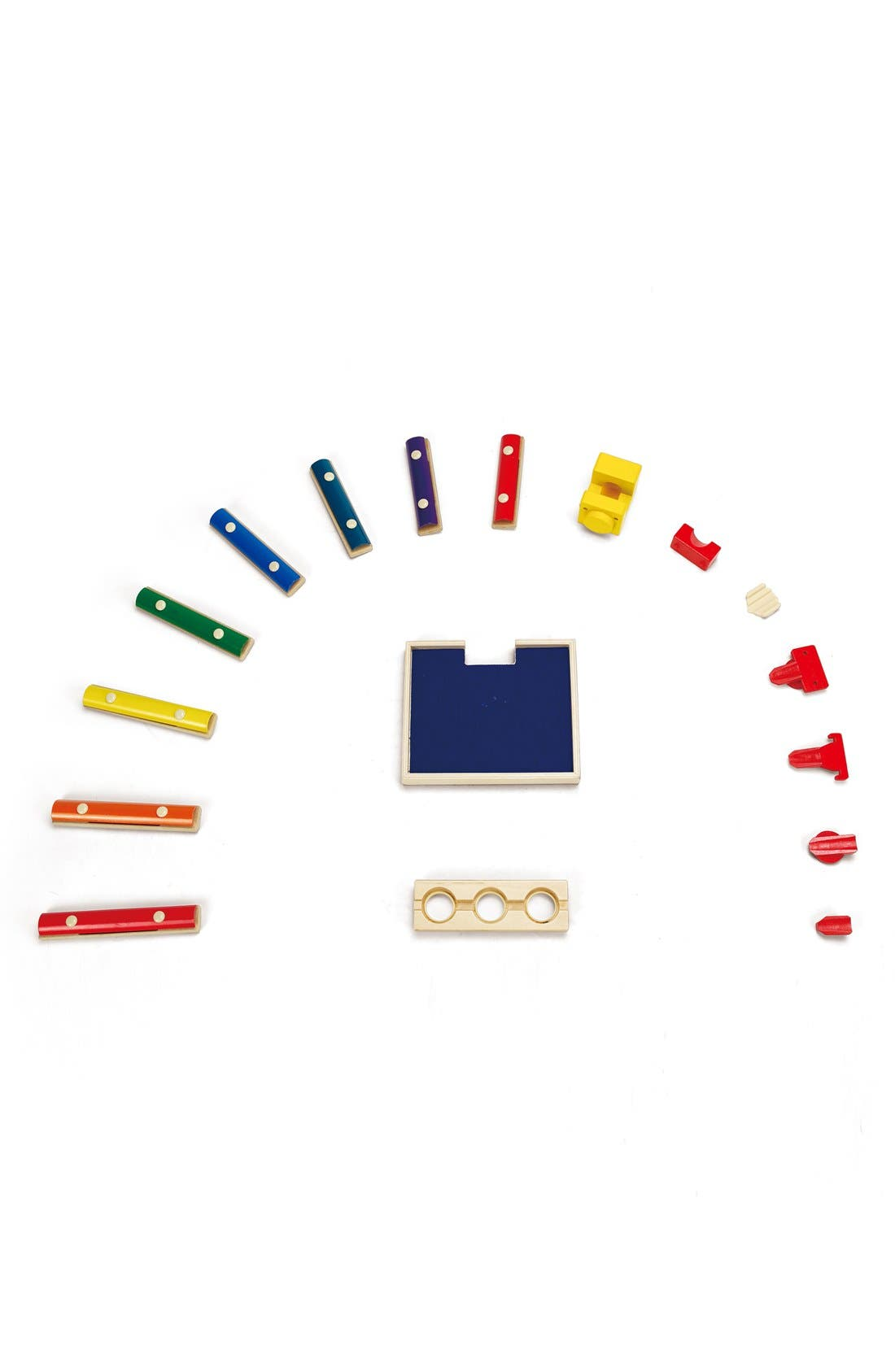'Quadrilla- Music Mixer' Marble Railway Set,                             Main thumbnail 1, color,                             Multi