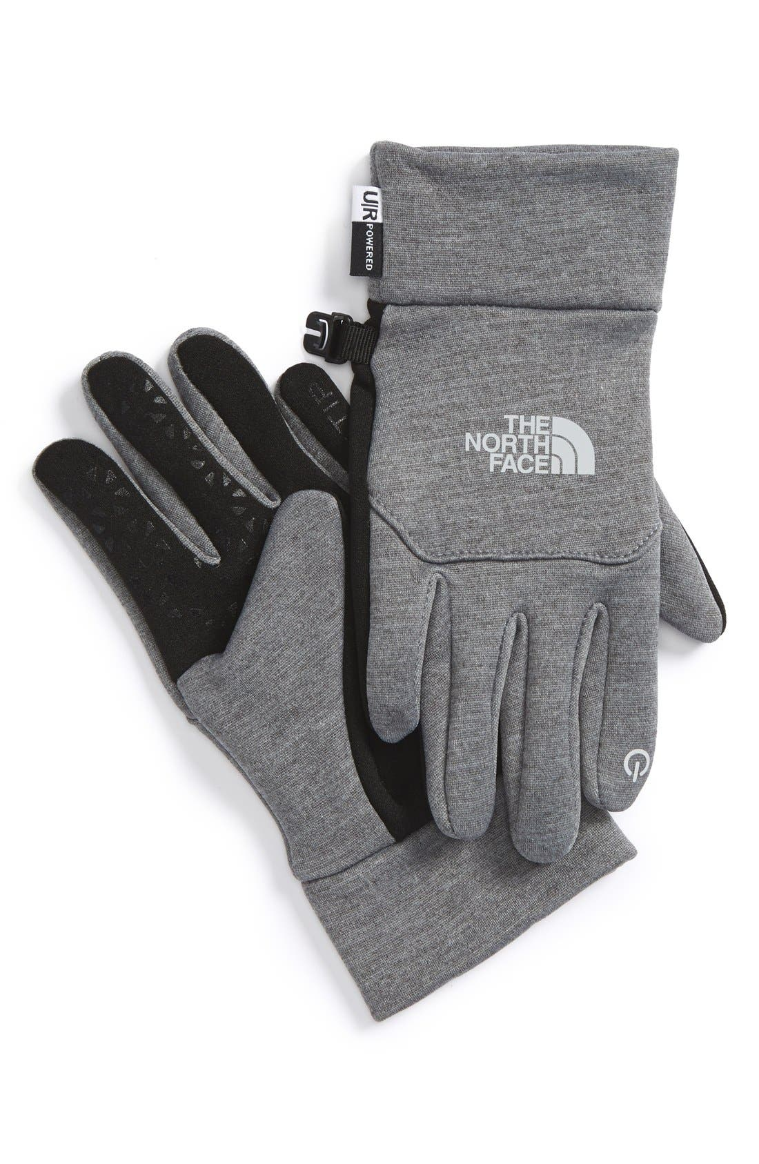 Alternate Image 1 Selected - The North Face 'Etip' Gloves (Little Girls & Big Girls)