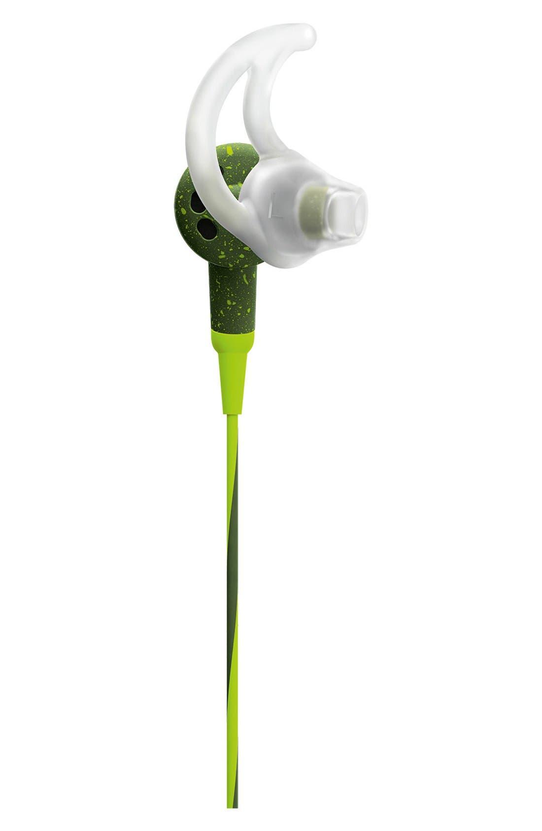 SoundSport<sup>®</sup> In-Ear Headphones,                             Alternate thumbnail 2, color,                             Energy Green