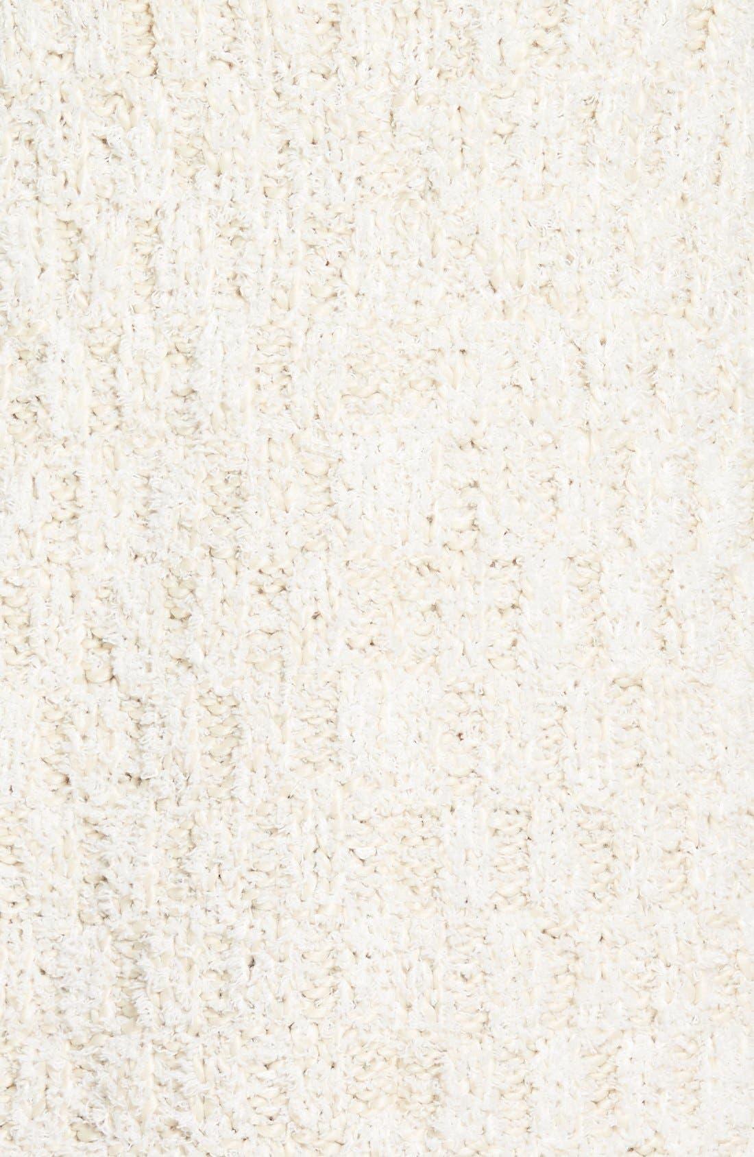 Alternate Image 5  - Chelsea28 Fluffy Turtleneck Sweater