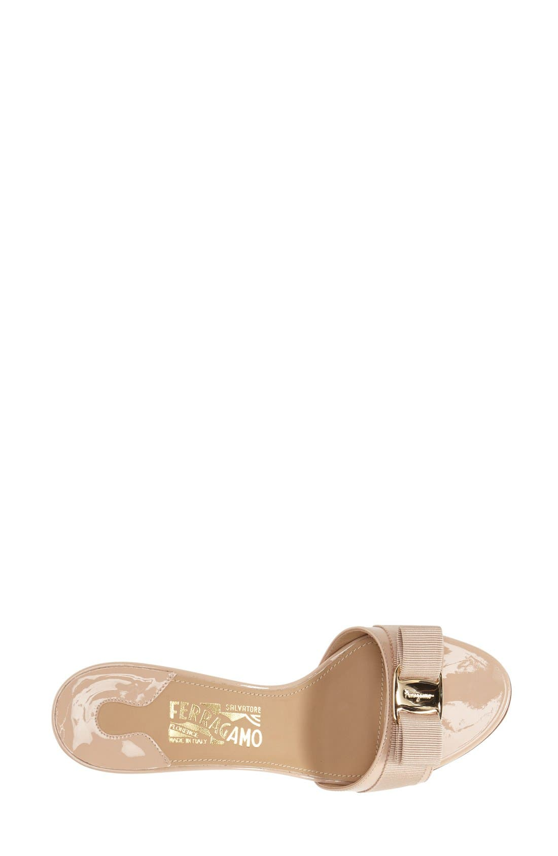 Alternate Image 3  - Salvatore Ferragamo 'Glory' Bow Trim Sandal