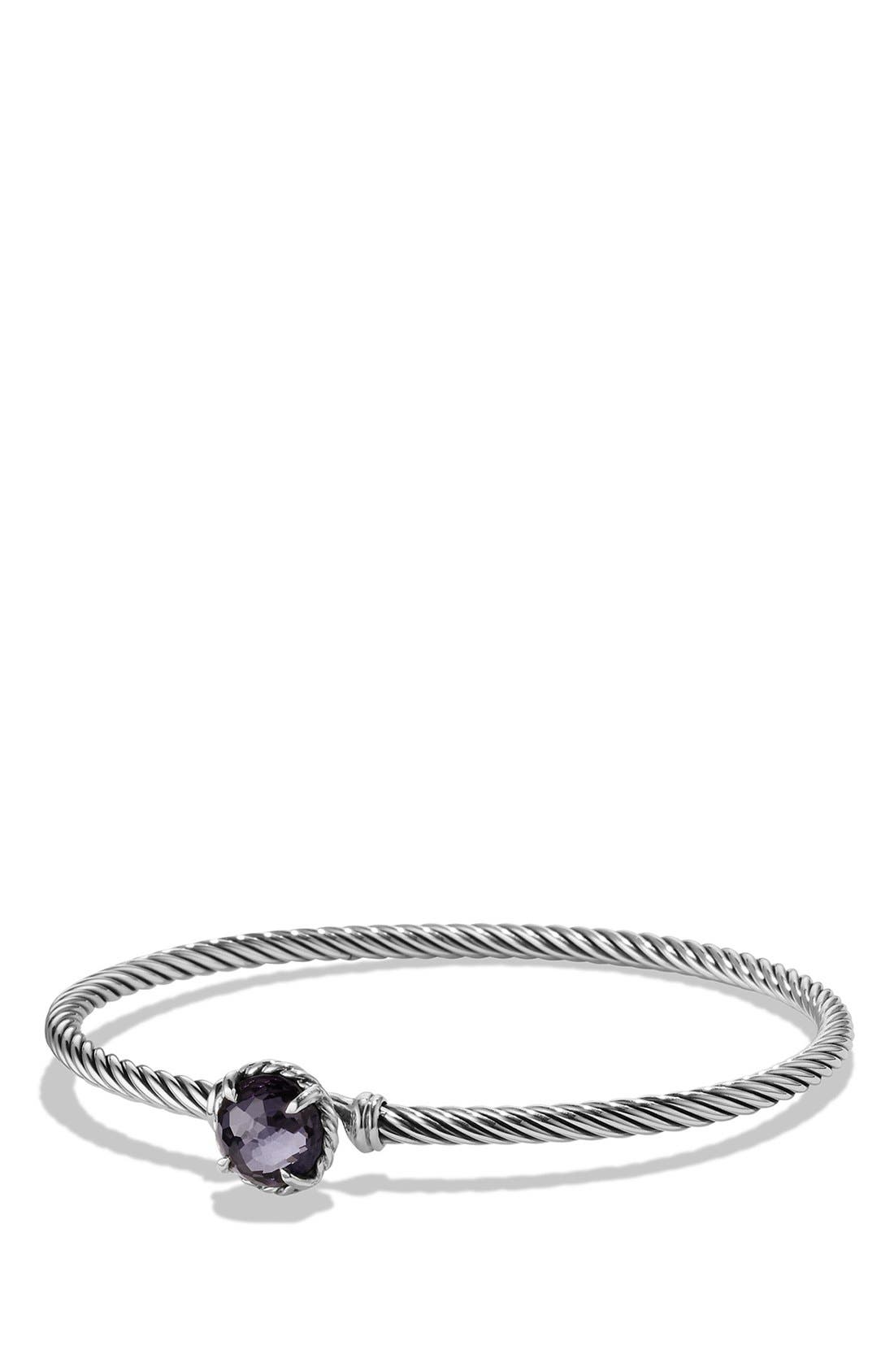 Alternate Image 1 Selected - David Yurman 'Color Classics' Bangle Bracelet