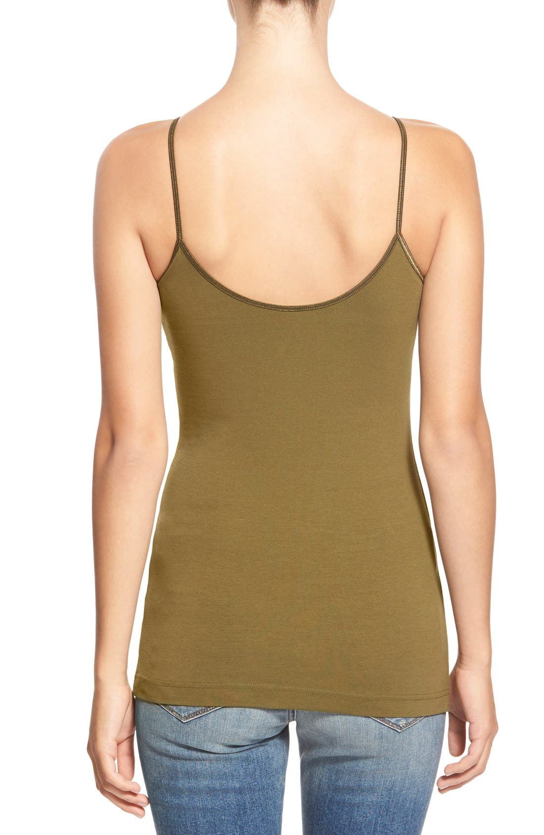 Alternate Image 2  - BP. Stretch Camisole