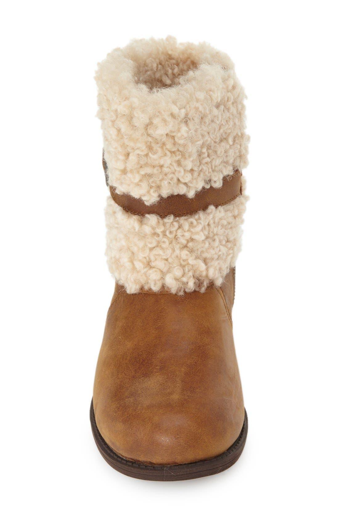 Alternate Image 3  - UGG®BlayreII Shearling Cuff Bootie (Women)