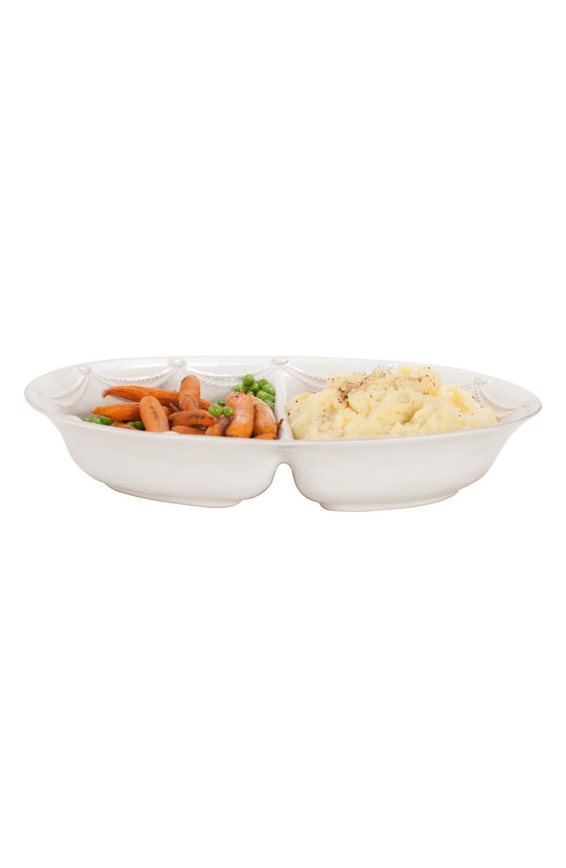 Alternate Image 3  - Juliska'Berry and Thread' Ceramic Divided Bowl
