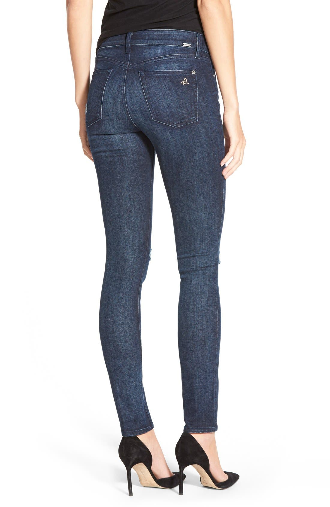 Alternate Image 2  - DL1961 'Florence' InstasculptSkinny Jeans (Vortex)